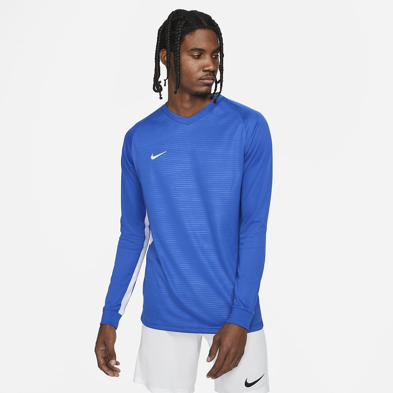 Nike Dri-FIT Tiempo Men's Long-Sleeve Soccer Jersey