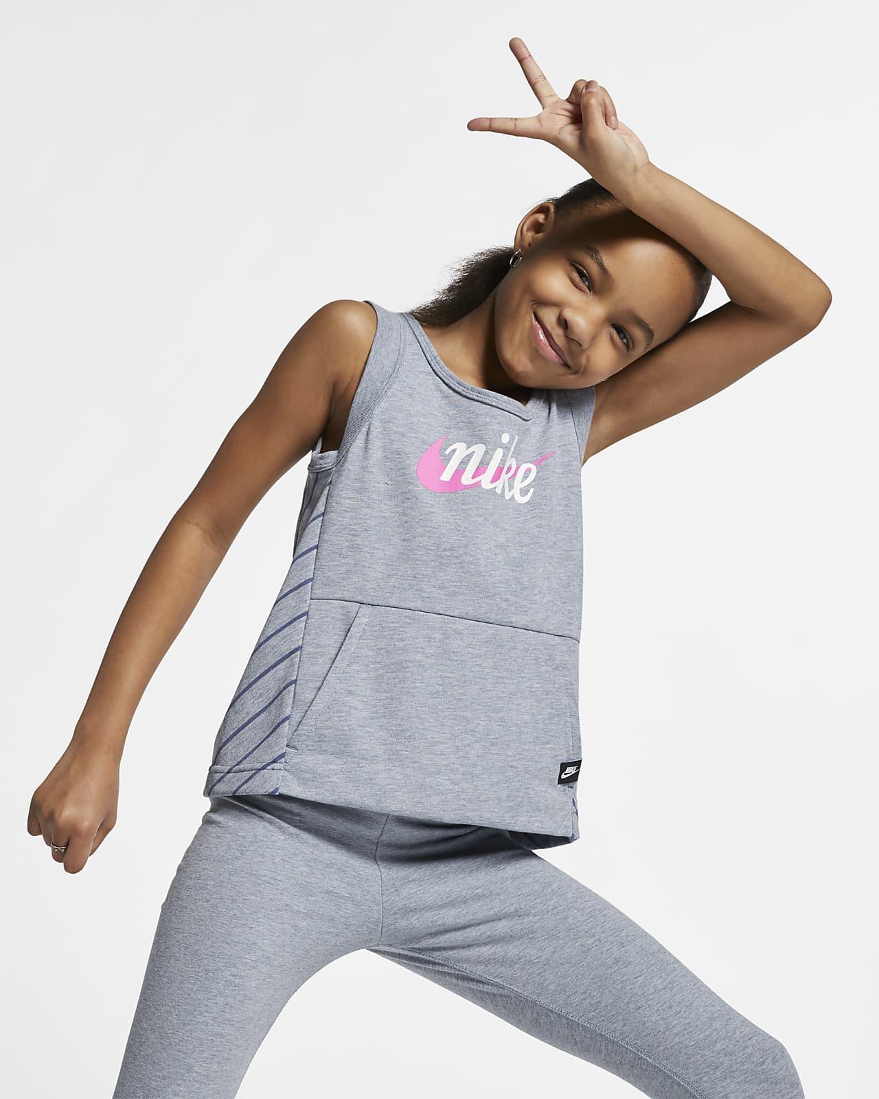 Nike Sportswear-tanktop til store børn (piger)