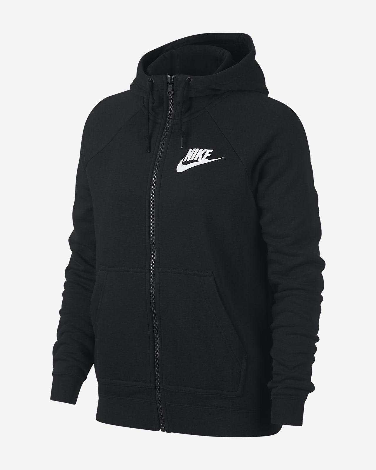 Nike Sportswear Rally 女子全长拉链开襟连帽衫