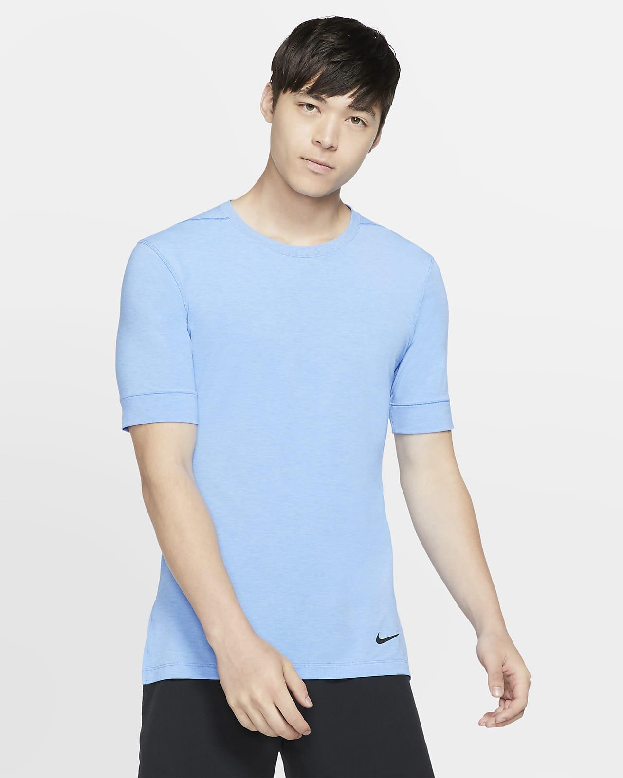Nike Dri-FIT Samarreta de màniga curta d'entrenament de ioga - Home
