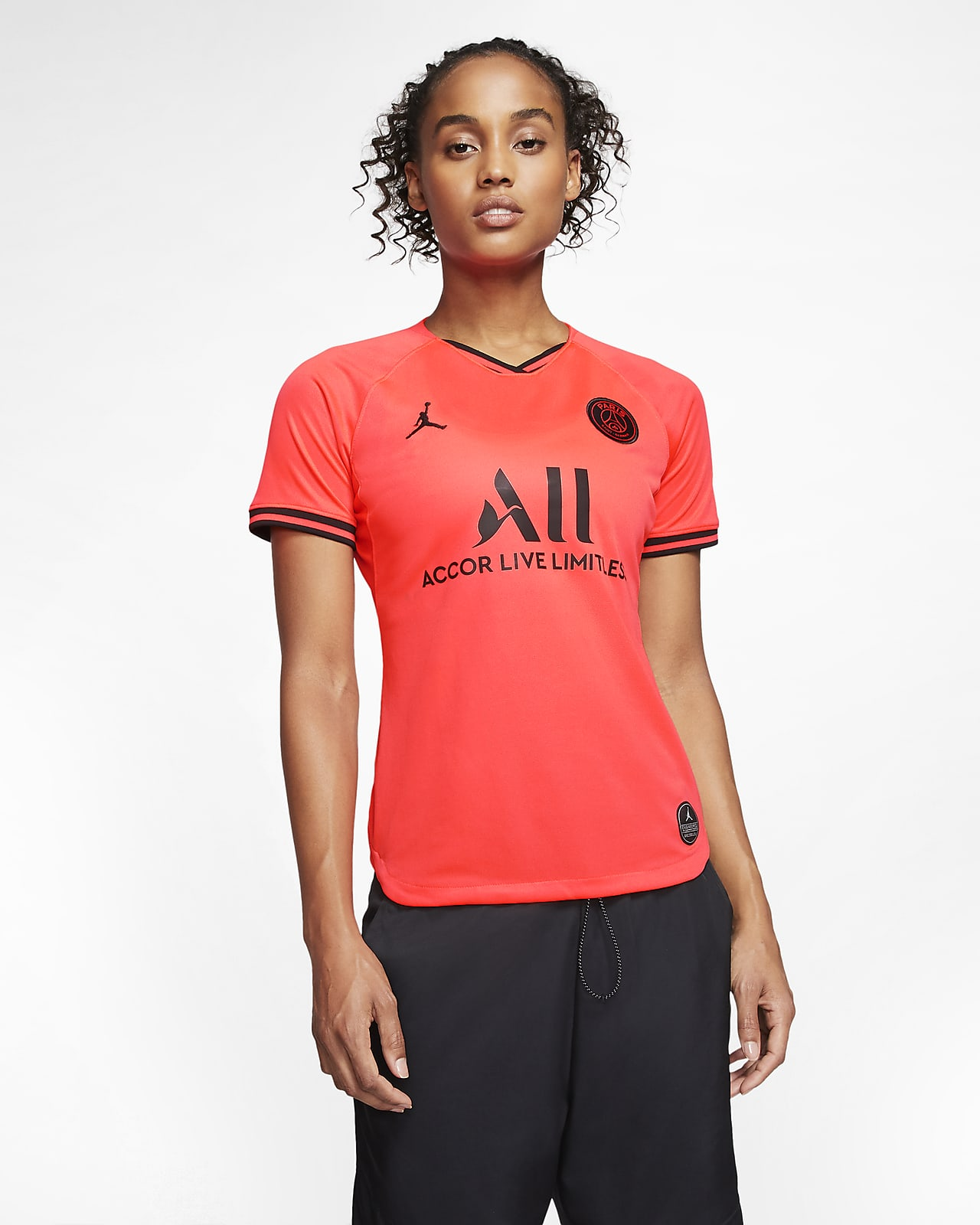 Jordan x Paris Saint-Germain 2019/20 Stadium Away Women's Football Shirt