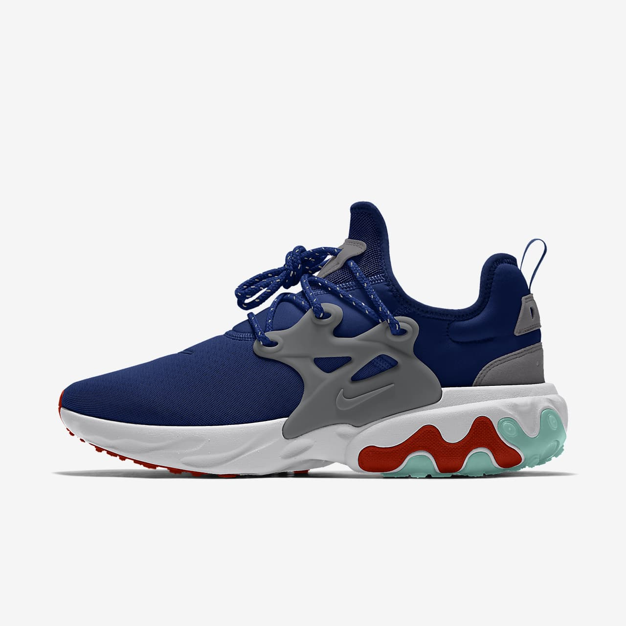 Chaussure personnalisable Nike React Presto By You pour Homme