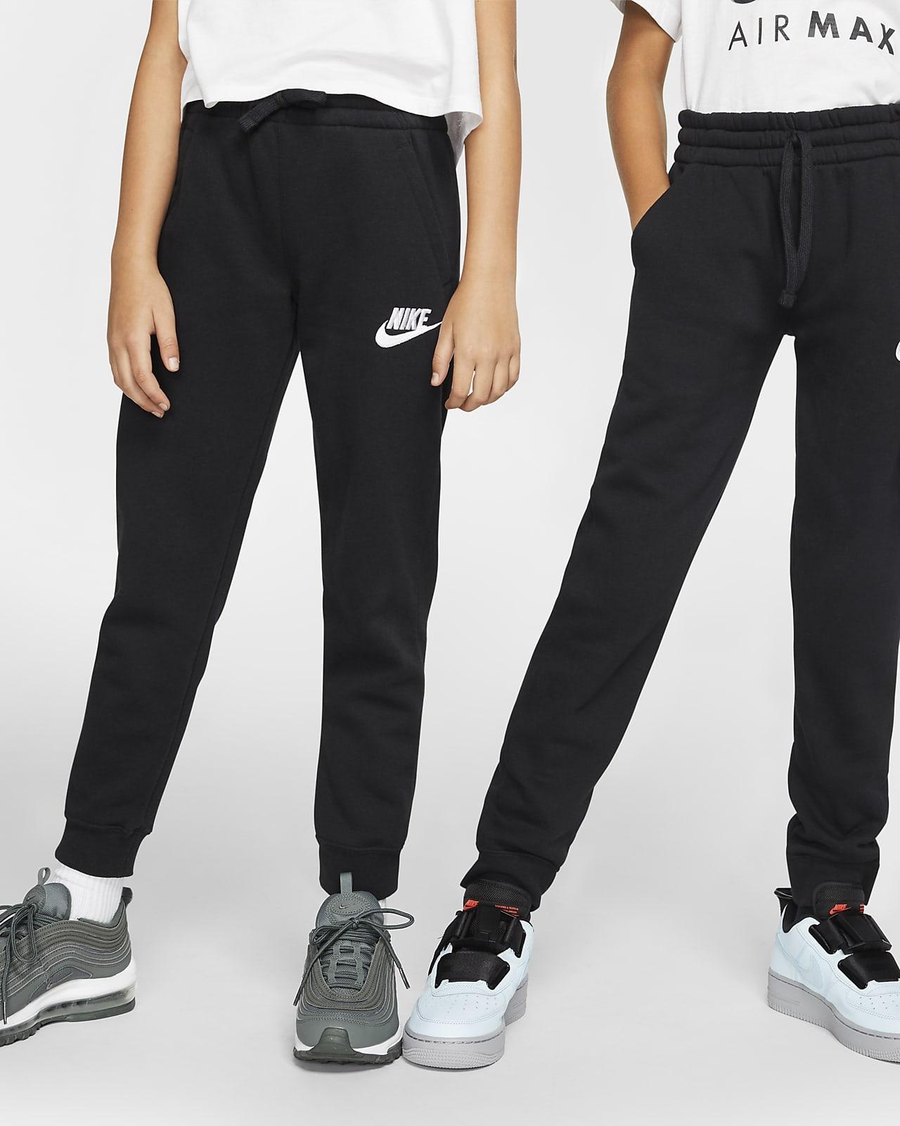 Kalhoty Nike Sportswear Club Fleece pro větší děti