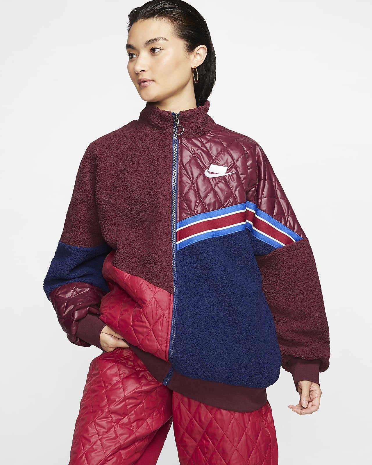 Nike Sportswear Nike Sports Pack Women's Full Zip Sherpa Track Jacket