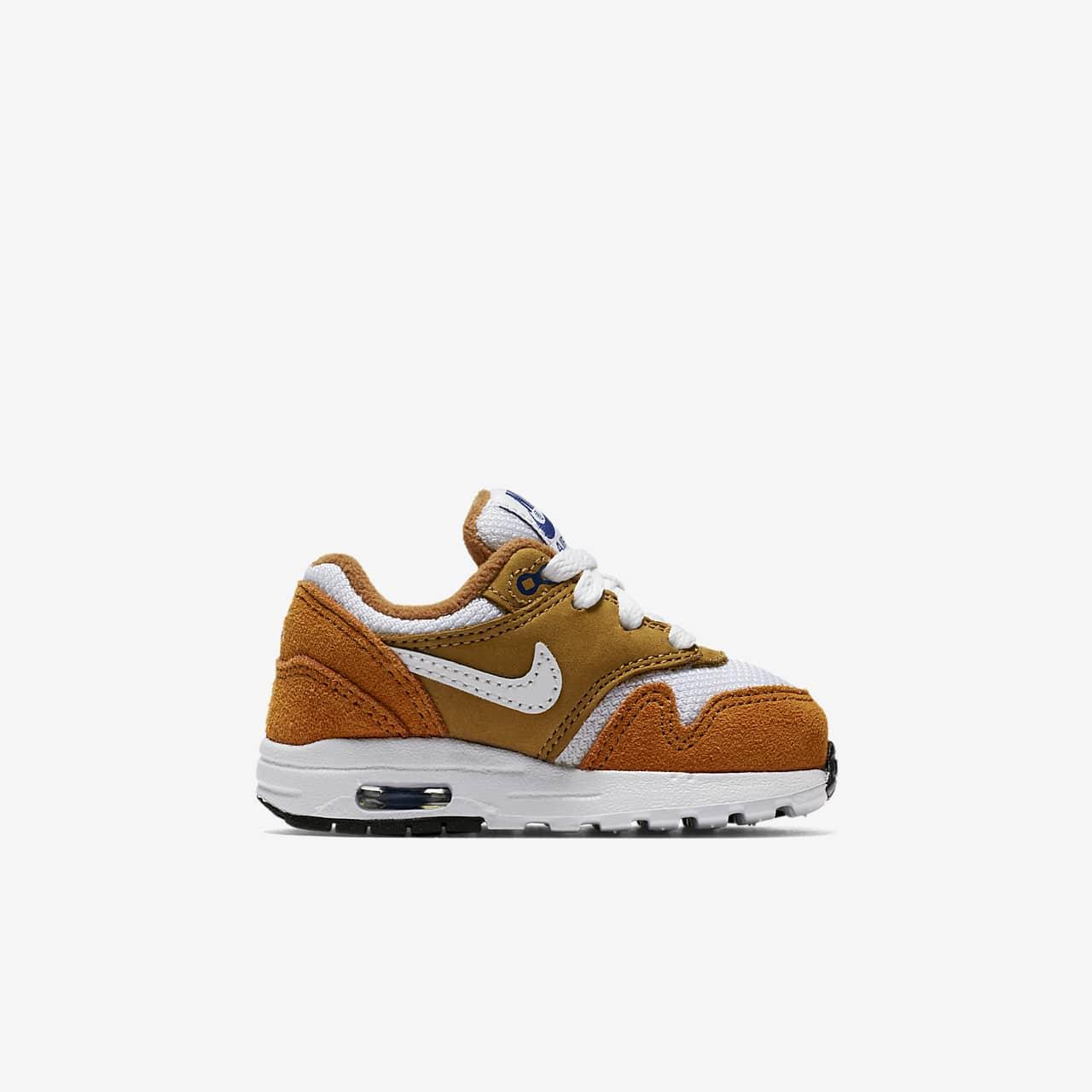 Nike Air Max 1 Premium Retro Baby & Toddler Shoe