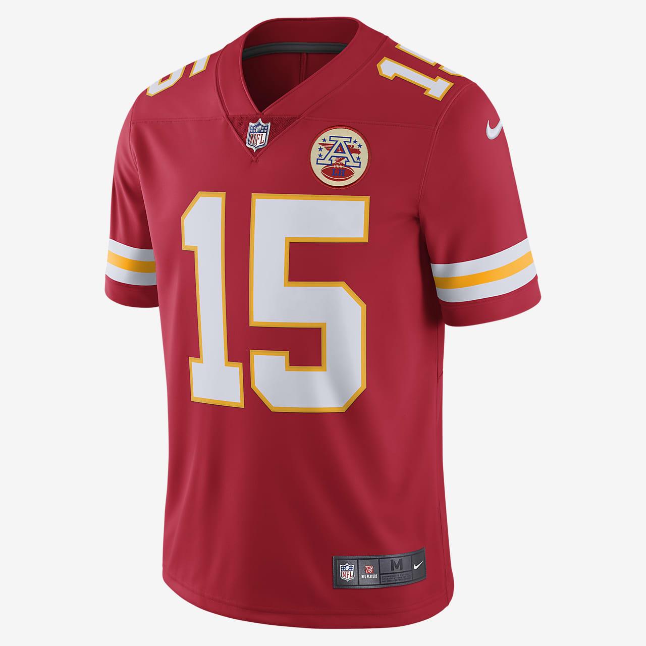 NFL Kansas City Chiefs Limited (Patrick Mahomes) Men's Football Jersey
