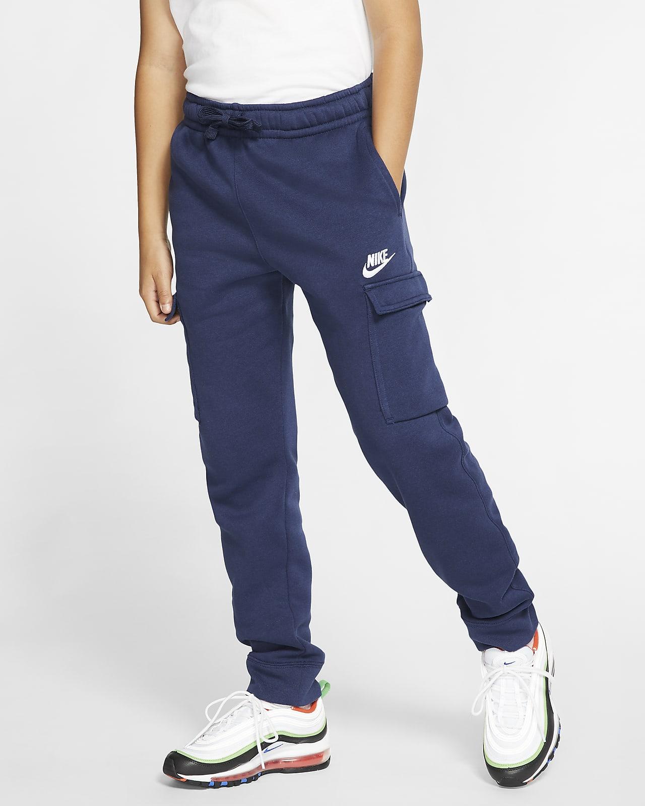 Pantalones cargo para niño talla grande Nike Sportswear Club