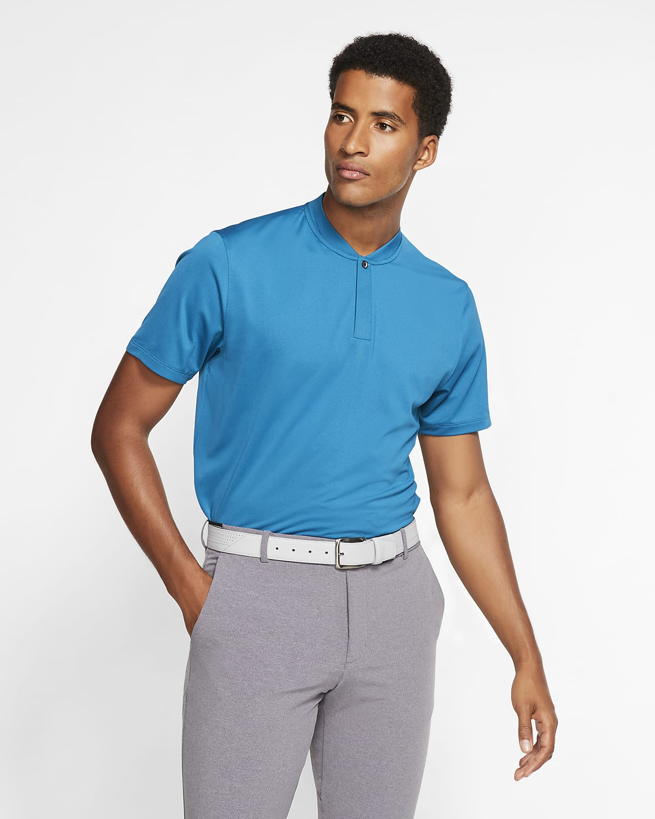 Nike Dri-FIT Tiger Woods golfskjorte til herre