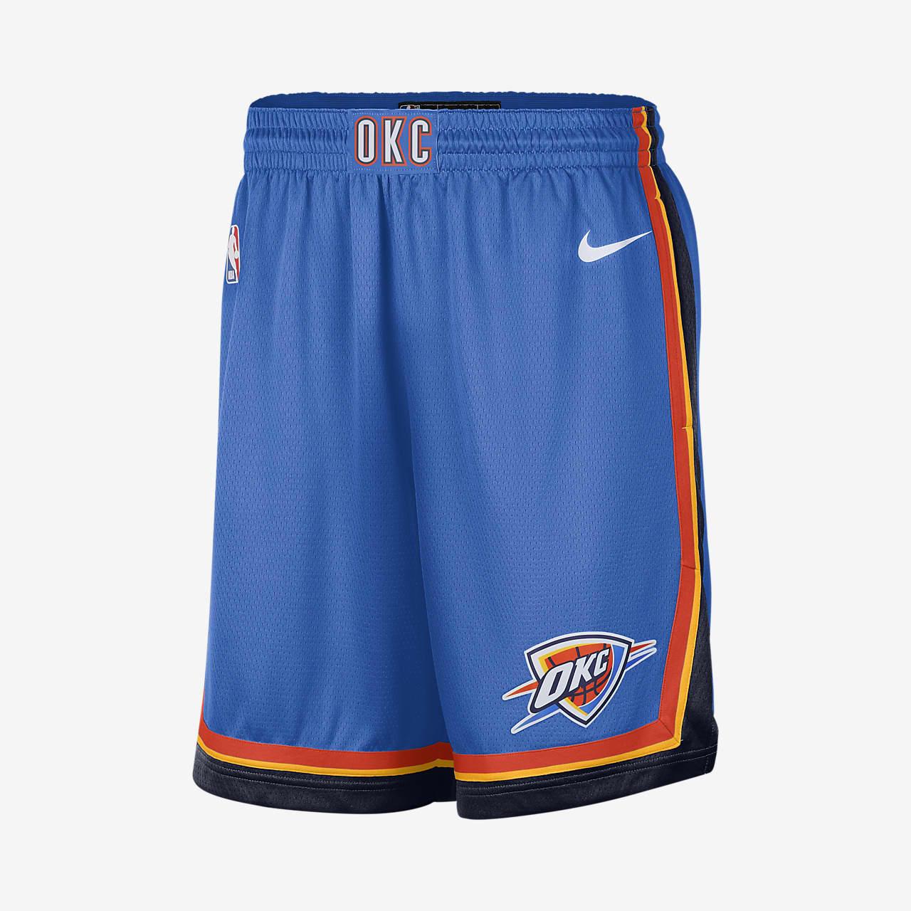 Spodenki męskie Nike NBA Swingman Oklahoma City Thunder Icon Edition