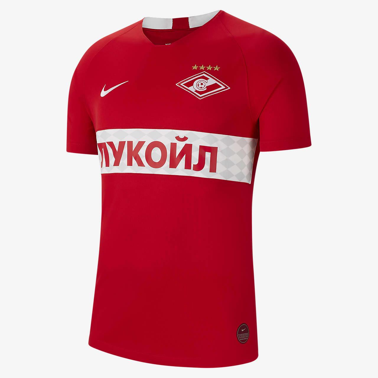 Fotbollströja Spartak Moscow 2019/20 Stadium Home för män