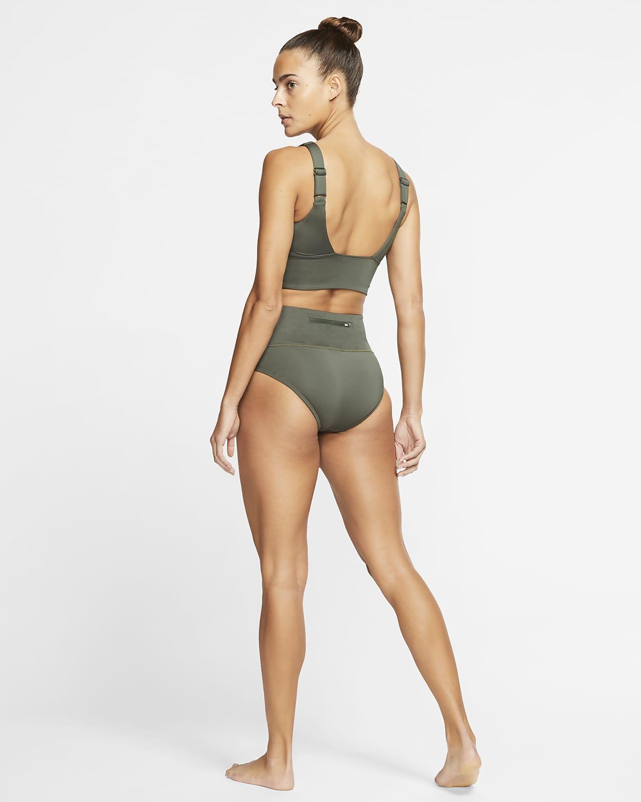 Scoop Neck Midkini Swim Top. Nike