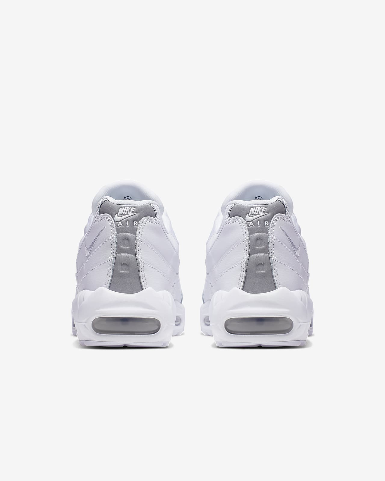 nike air max 95 essential chaussures de running mixte adulte blanc