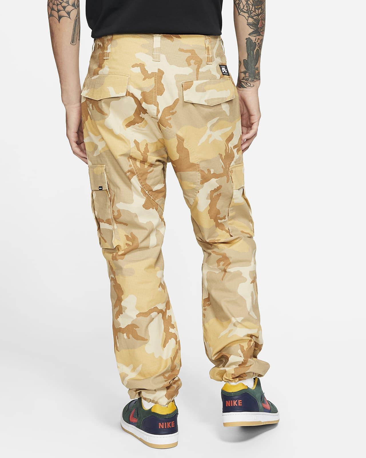 Pantalones Cargo De Skateboard Camuflados Para Hombre Nike Sb Flex Ftm Nike Com