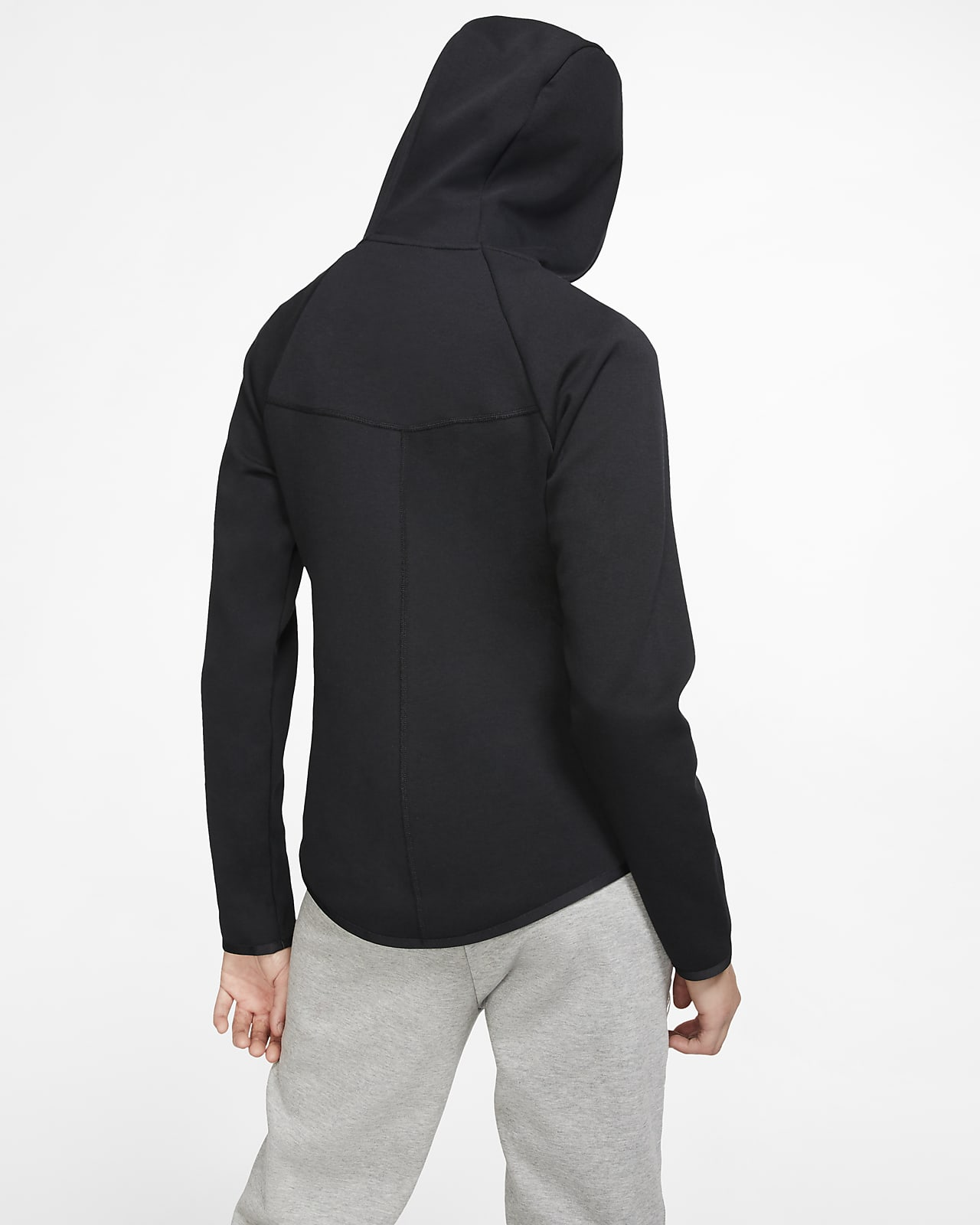 Sweat à capuche à zip Nike Sportswear Windrunner Tech Fleece pour Femme