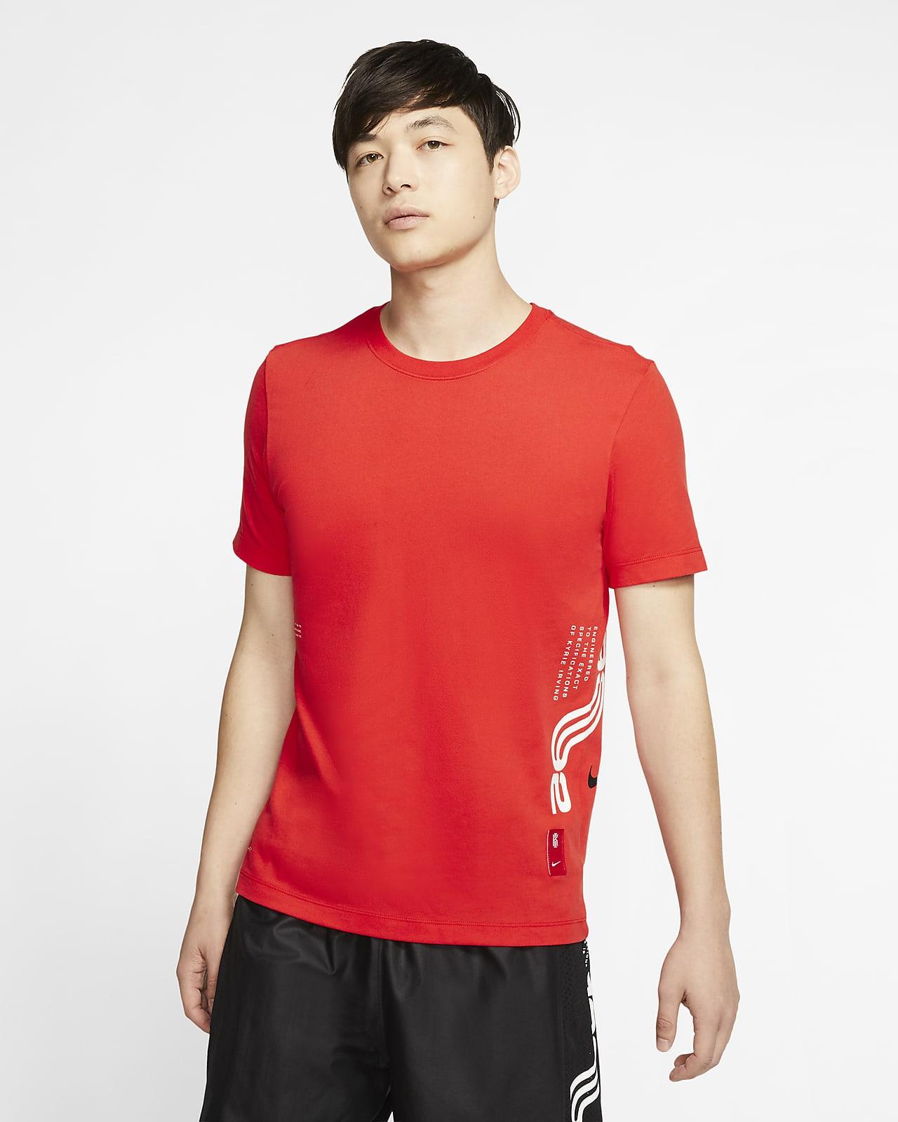 ナイキ Dri-FIT カイリー メンズ バスケットボール Tシャツ