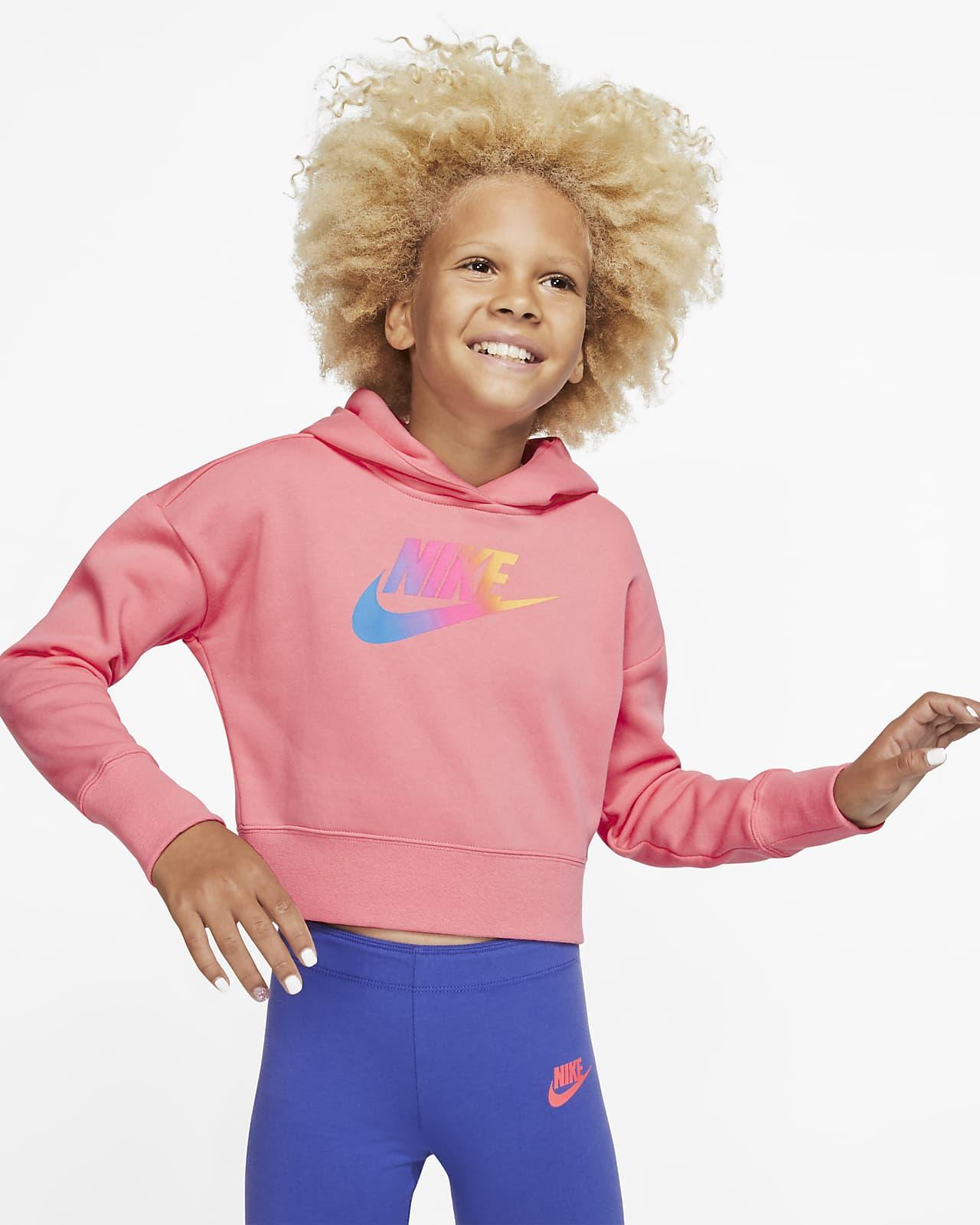 Sweat à capuche court Nike Sportswear pour Fille plus âgée