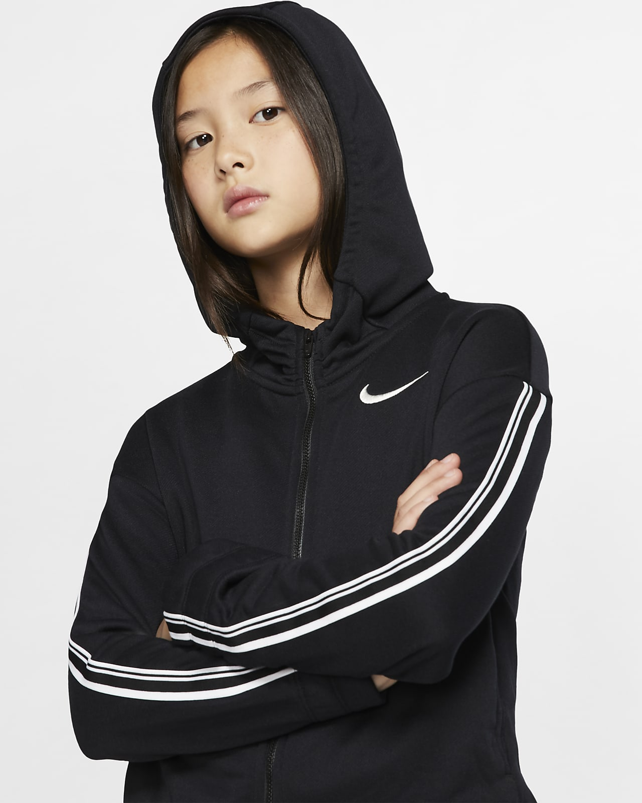 Nike Studio Big Kids' (Girls') Full-Zip