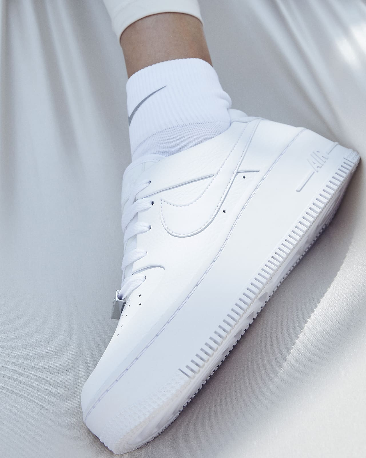 air force 1 sage white
