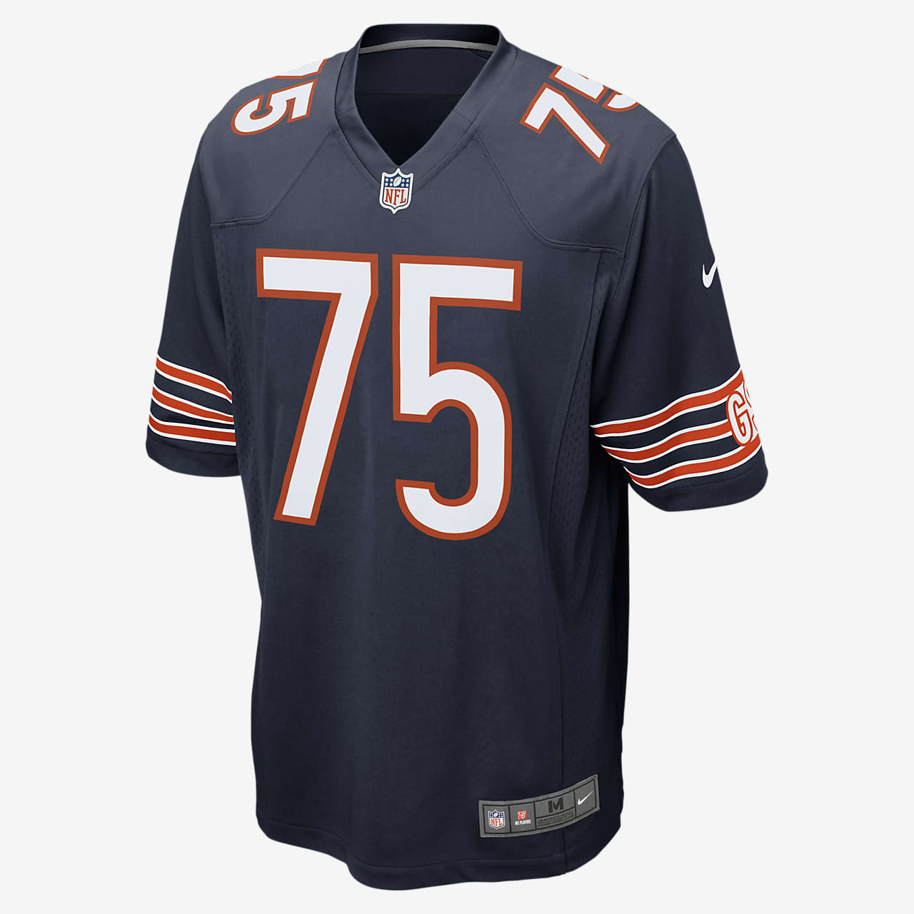 NFL Chicago Bears (Kyle Long) Men's American Football Home Game Jersey