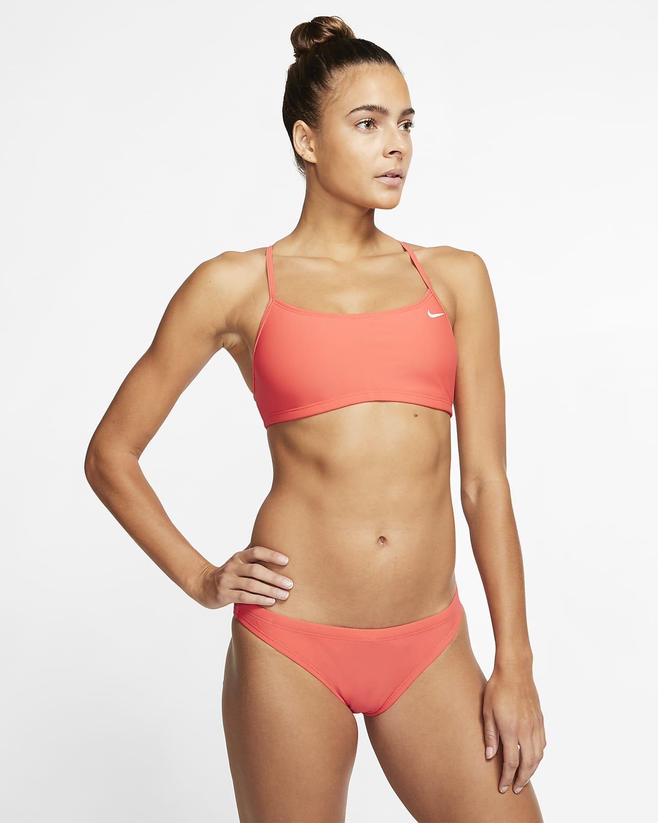 Instalación caja registradora pedir  Traje de baño de dos piezas para mujer Nike Sport Top. Nike.com