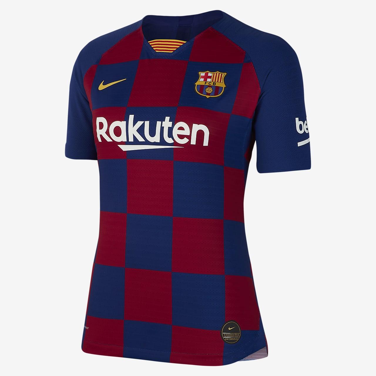 Camisola de futebol FC Barcelona 2019/20 Vapor Match Home para mulher