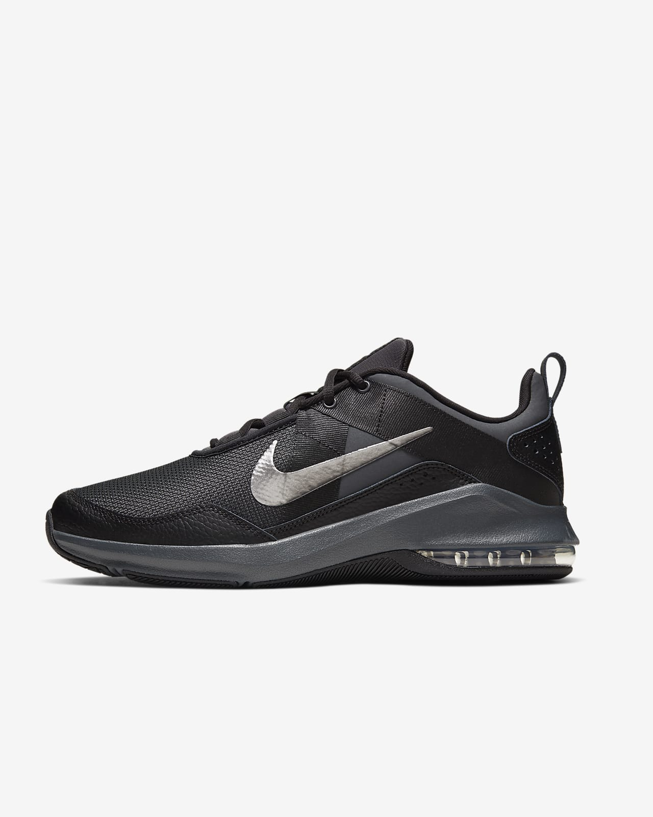 nike air max black trainers