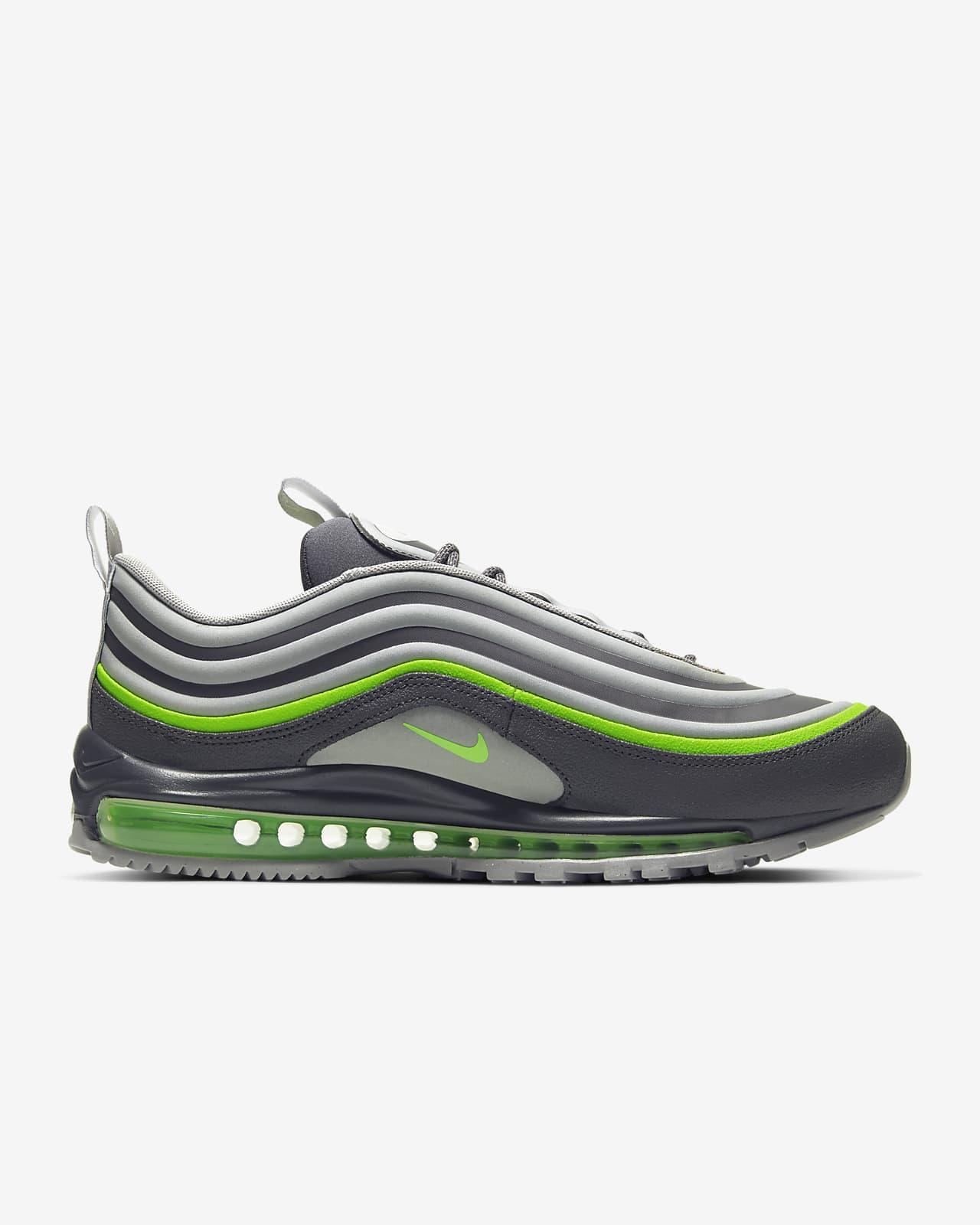 air max 97 black grey green