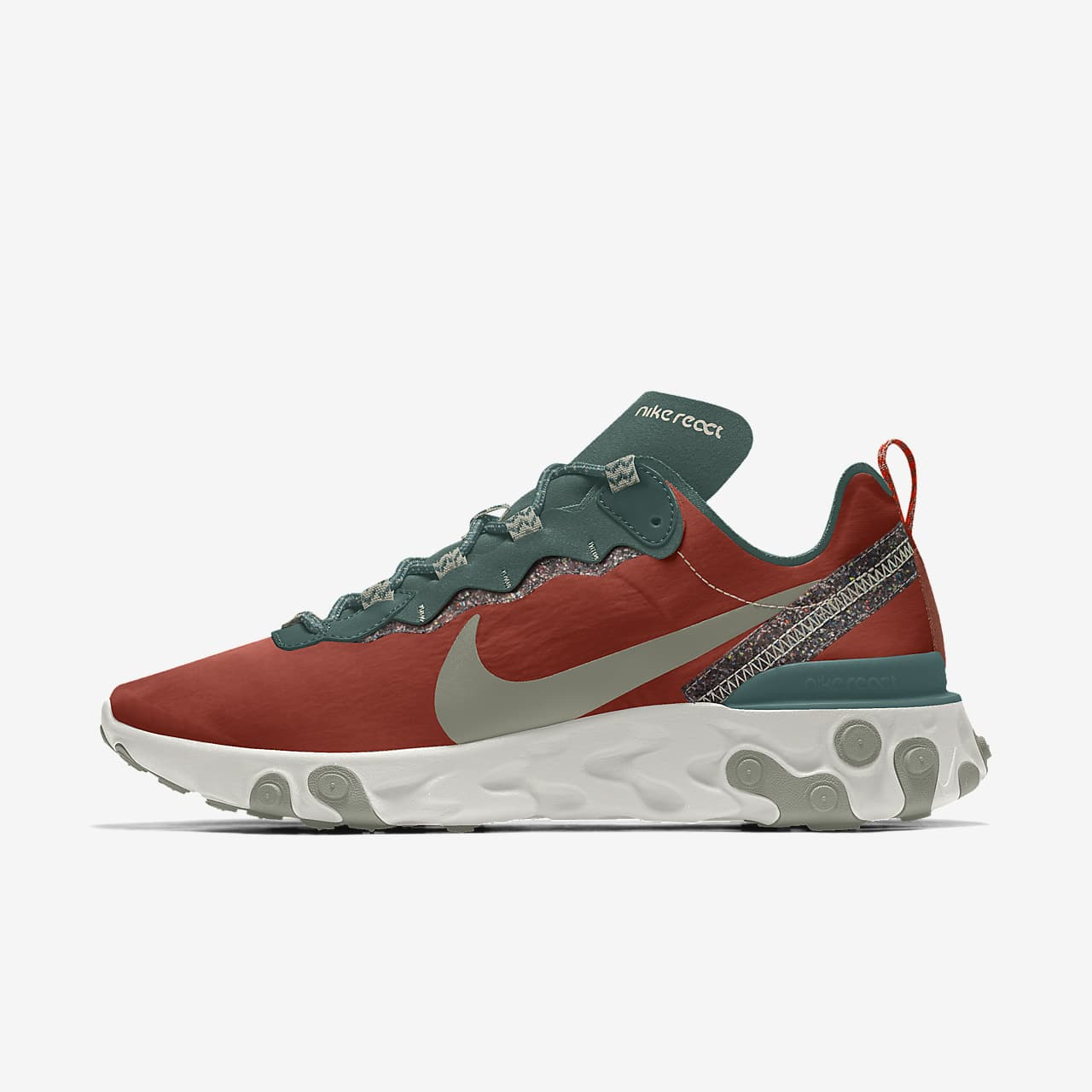 Nike React Element 55 Premium By You Custom Men's Shoe