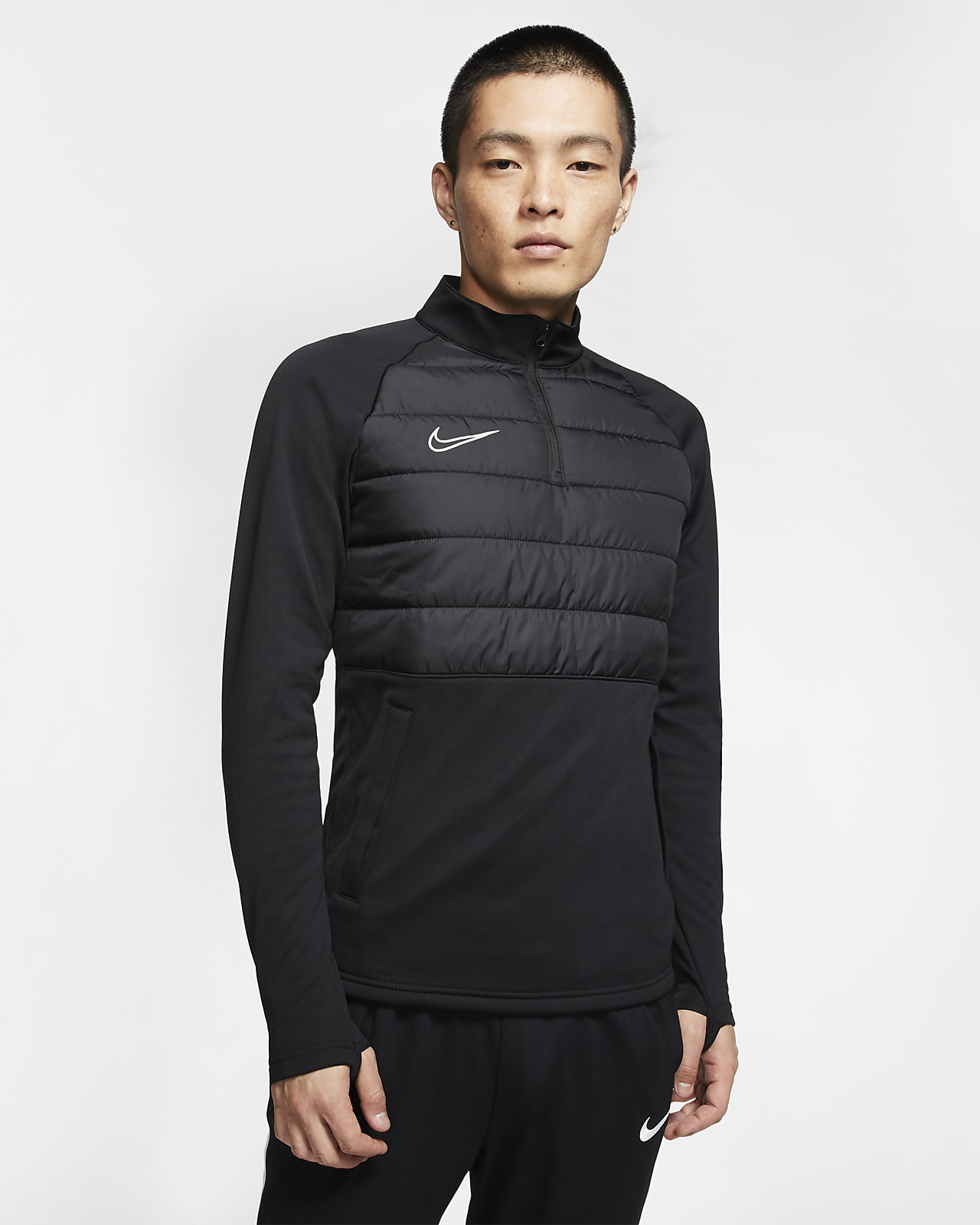 Camiseta de entrenamiento de fútbol para hombre Nike Dri-FIT Academy Winter Warrior