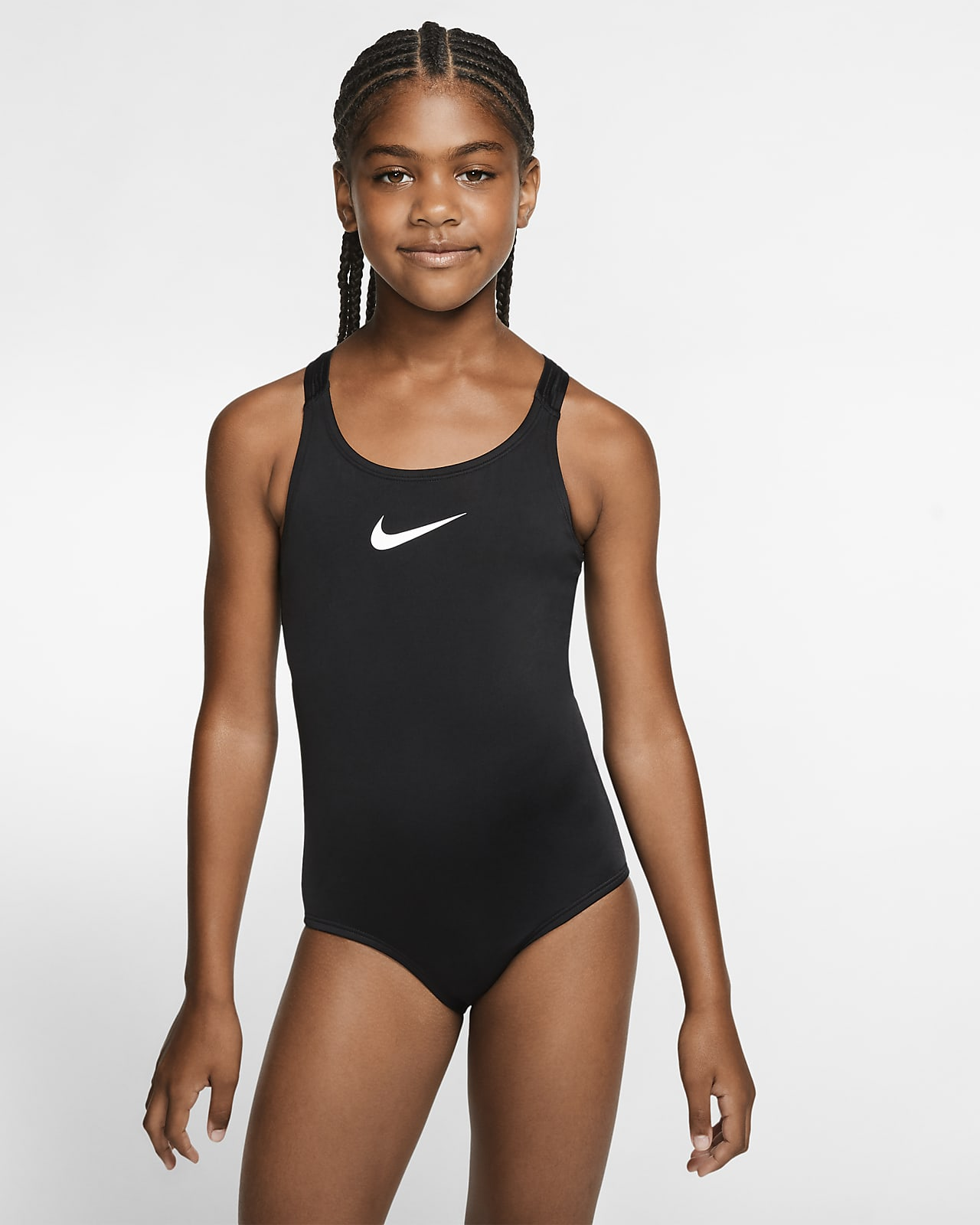 Nike Essential Big Kids' (Girls') Racerback Swimsuit