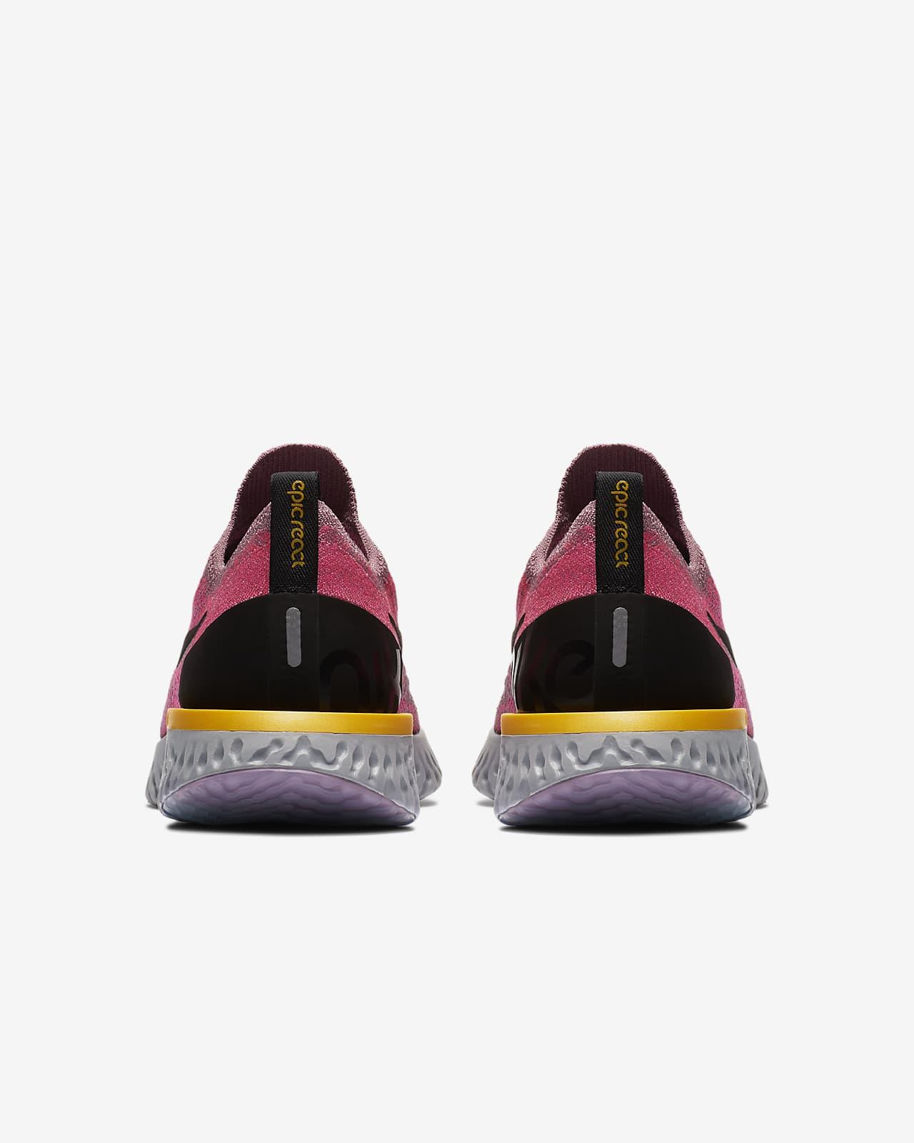 nike epic react flyknit 1 zapatillas de running - mujer