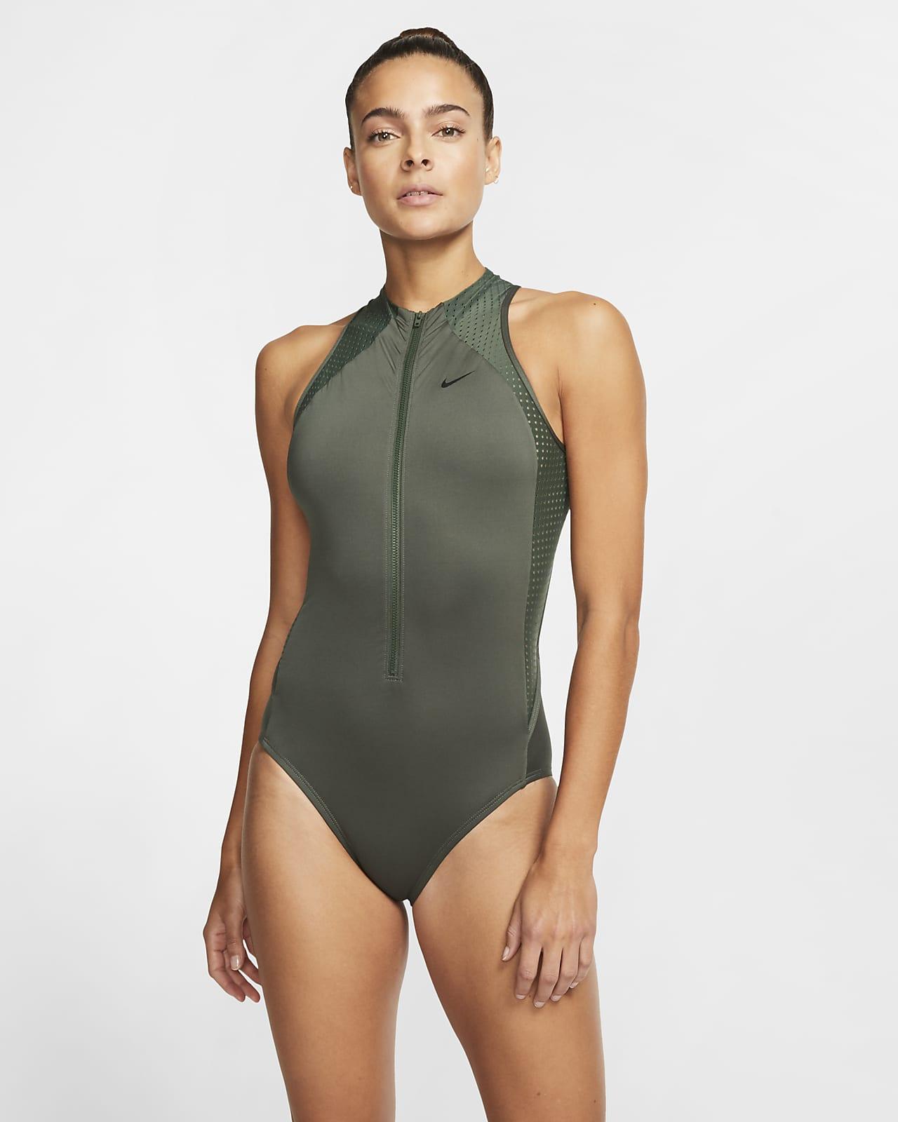 Nike Sport Mesh Women's Zip 1-Piece