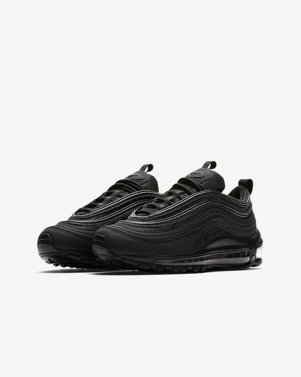 air max 97 black and black