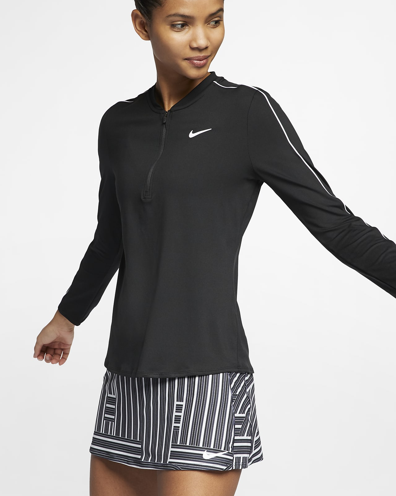 NikeCourt Dri-FIT 女子长袖网球上衣
