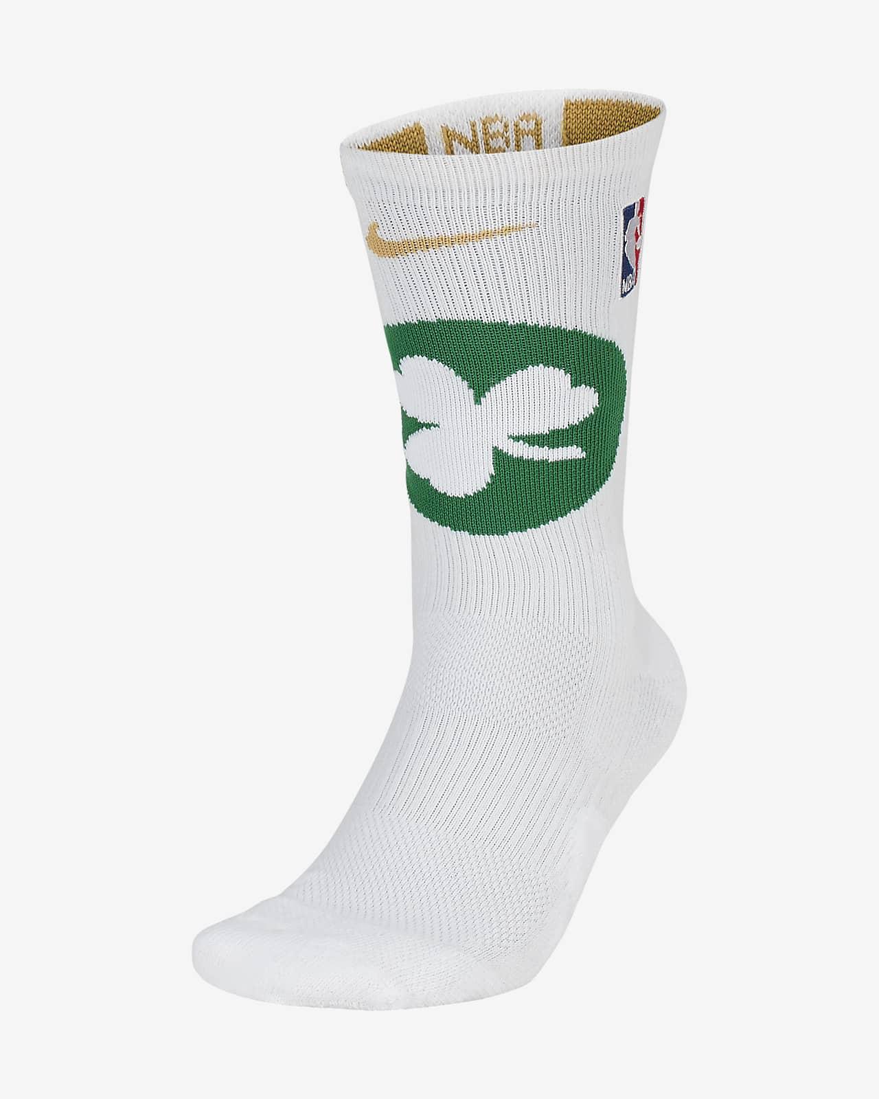 Boston Celtics Nike Elite NBA Crew Socks