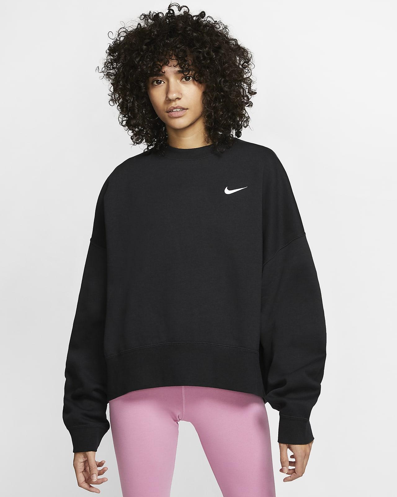 Nike Sportswear Essential Fleece Kadın Crew Üstü