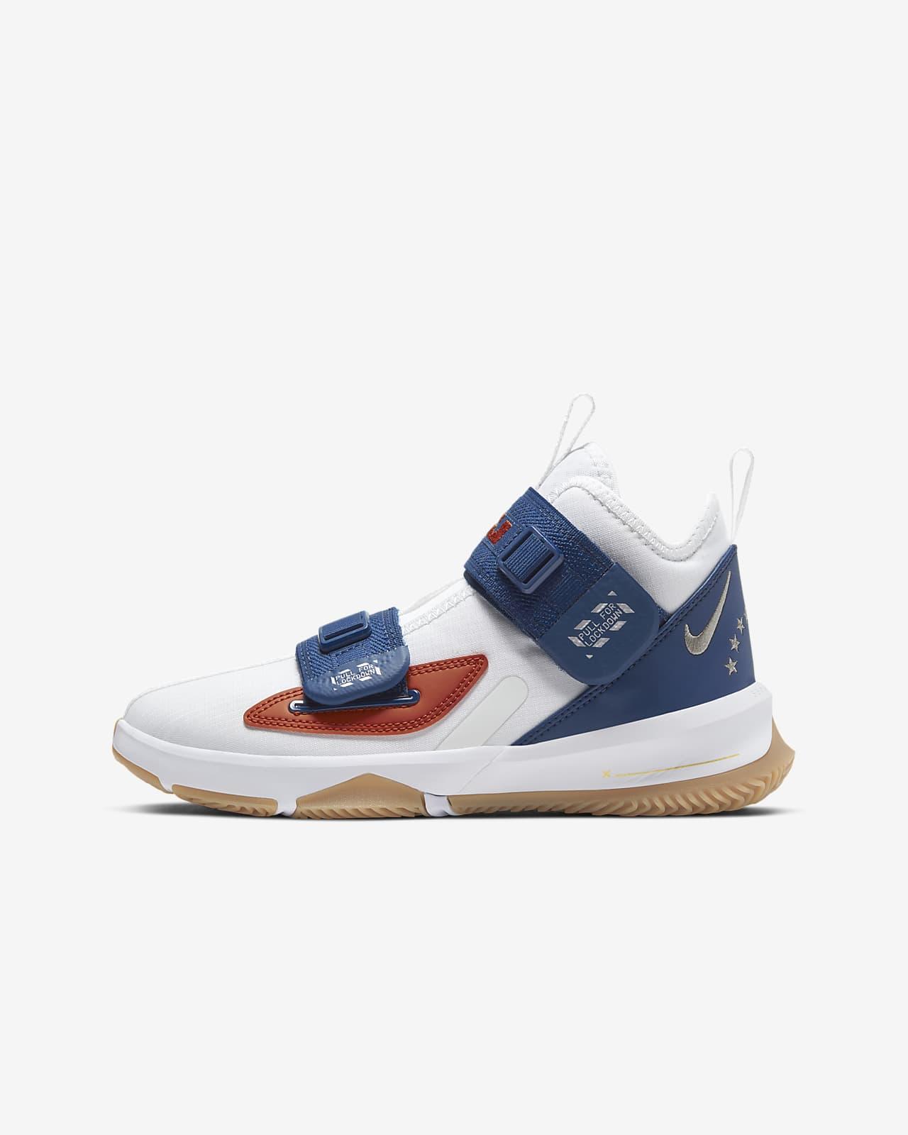 Kids' Basketball Shoe. Nike