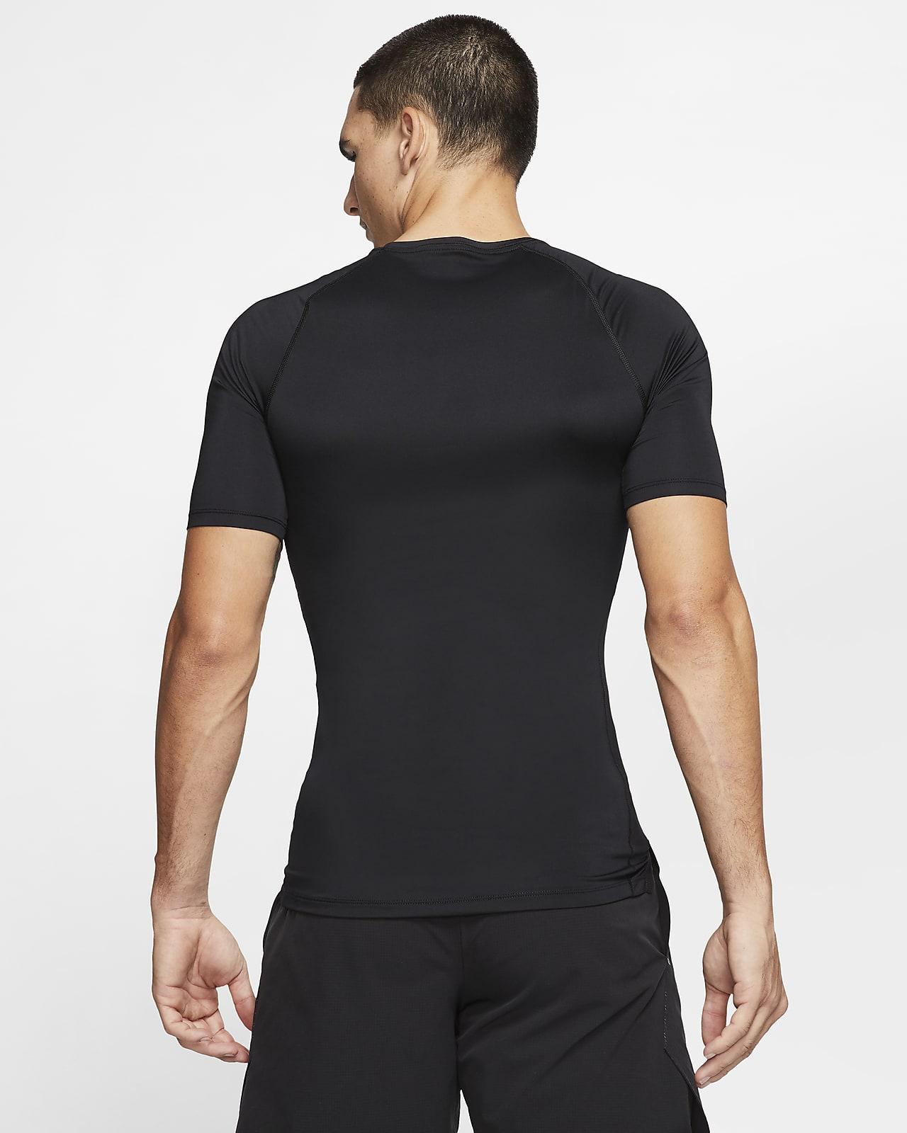 Kortärmad tröja med tajt passform Nike Pro för män