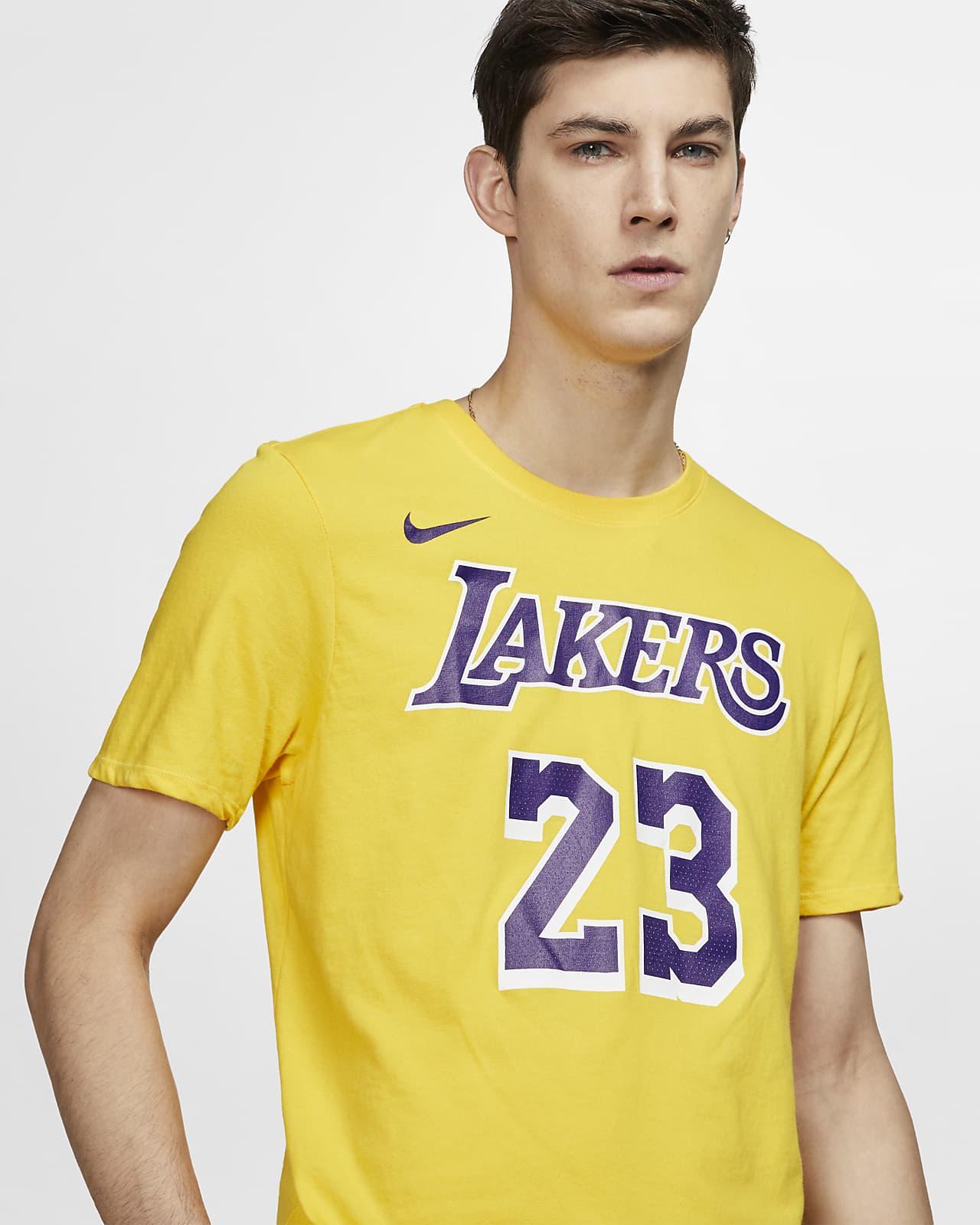LeBron James Lakers Nike Dri-FIT NBA T-Shirt