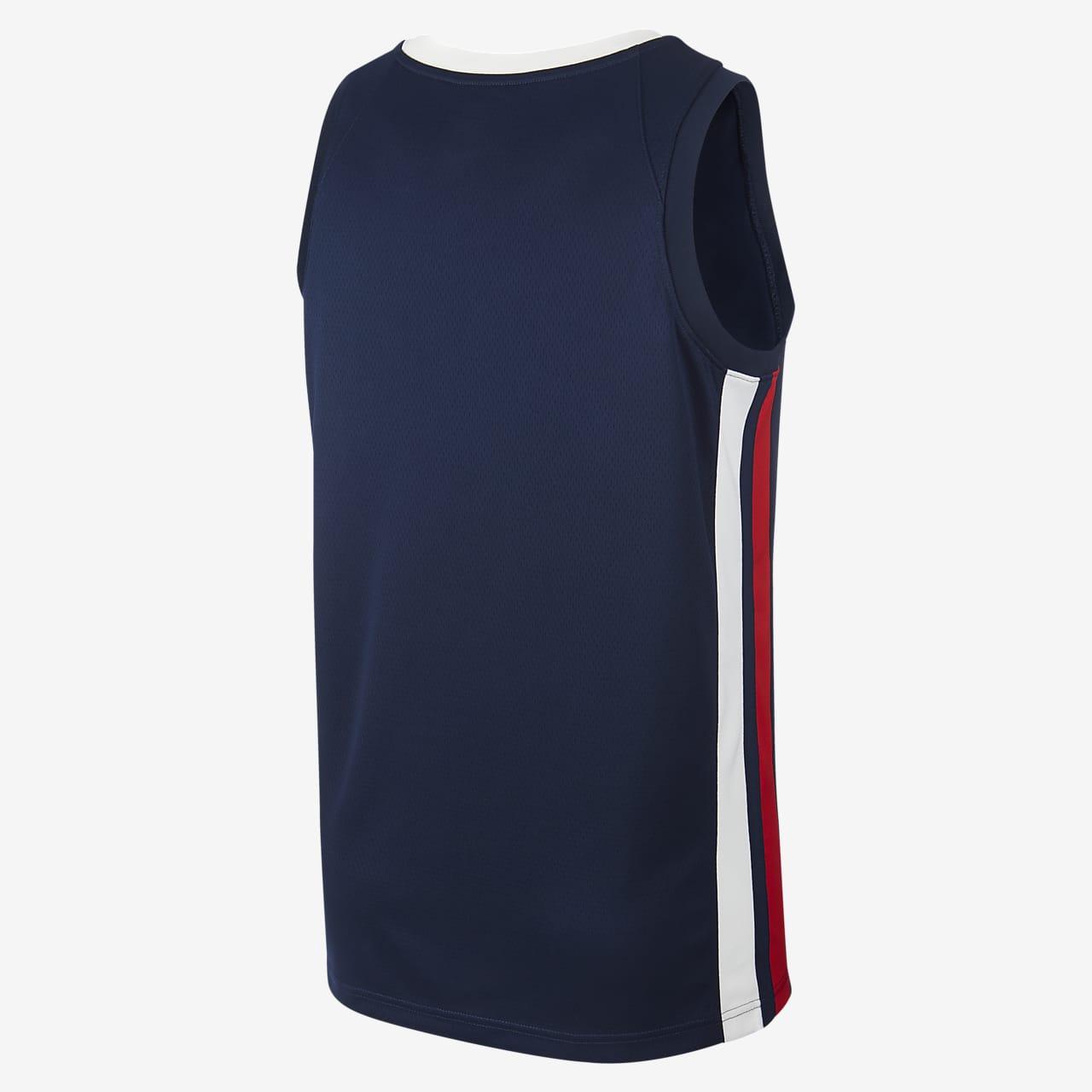 Maillot de basketball France Jordan (Road) pour Homme. Nike FR