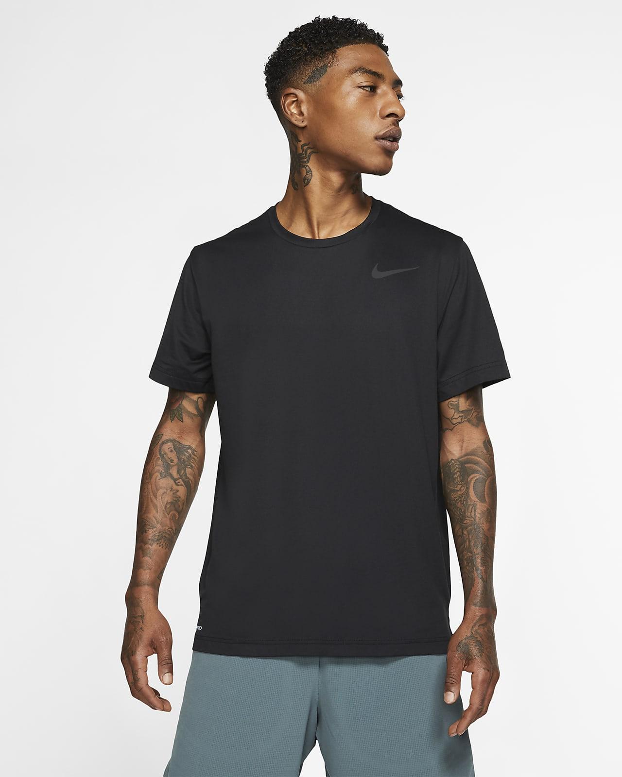 Nike Pro Kısa Kollu Erkek Üstü