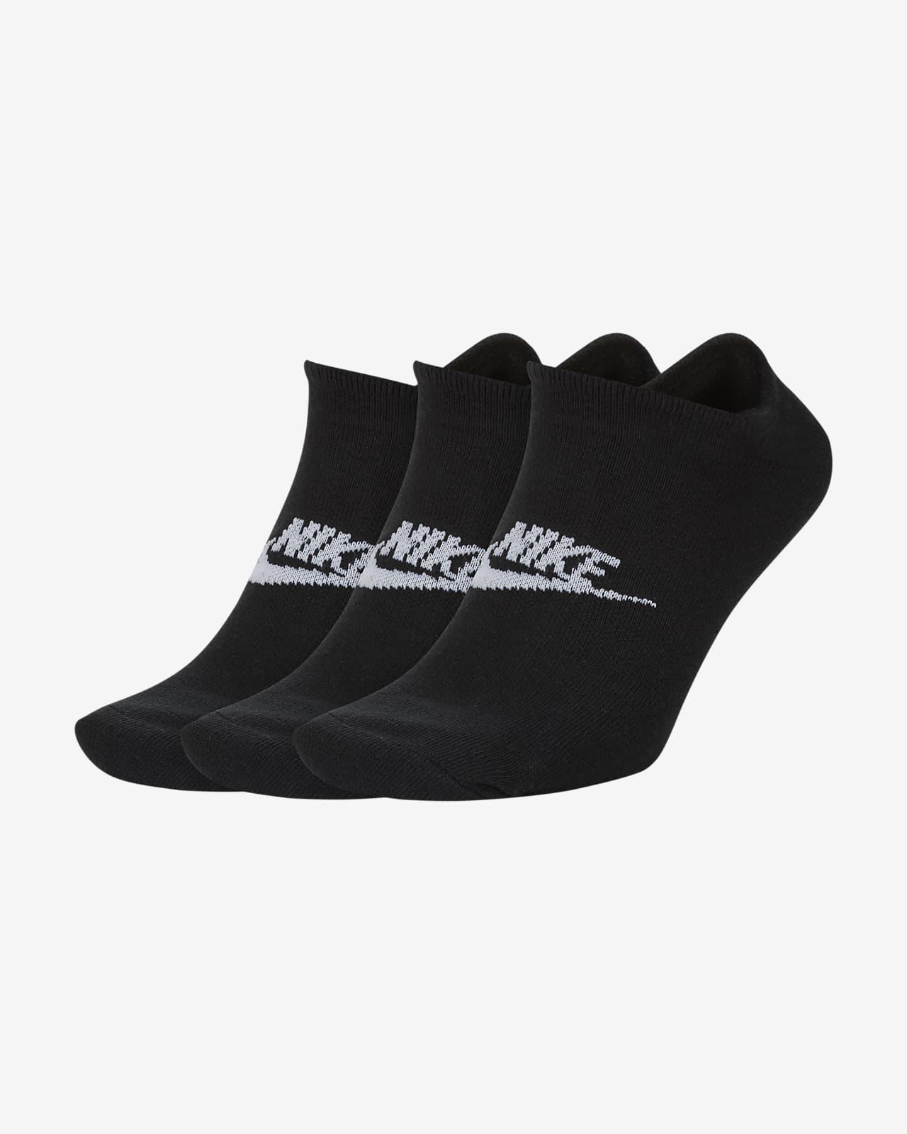 Nike Sportswear Everyday Essential No-Show Socks (3 Pairs)
