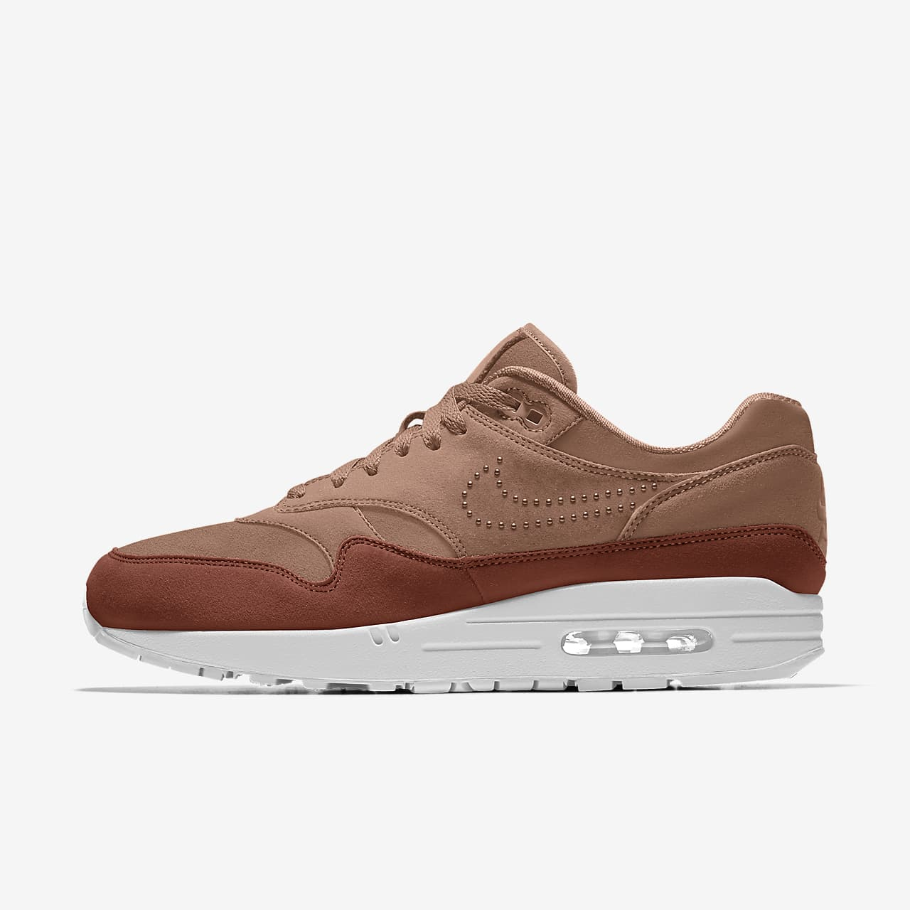 Chaussure personnalisable Nike Air Max 1 Premium By You pour Femme ...