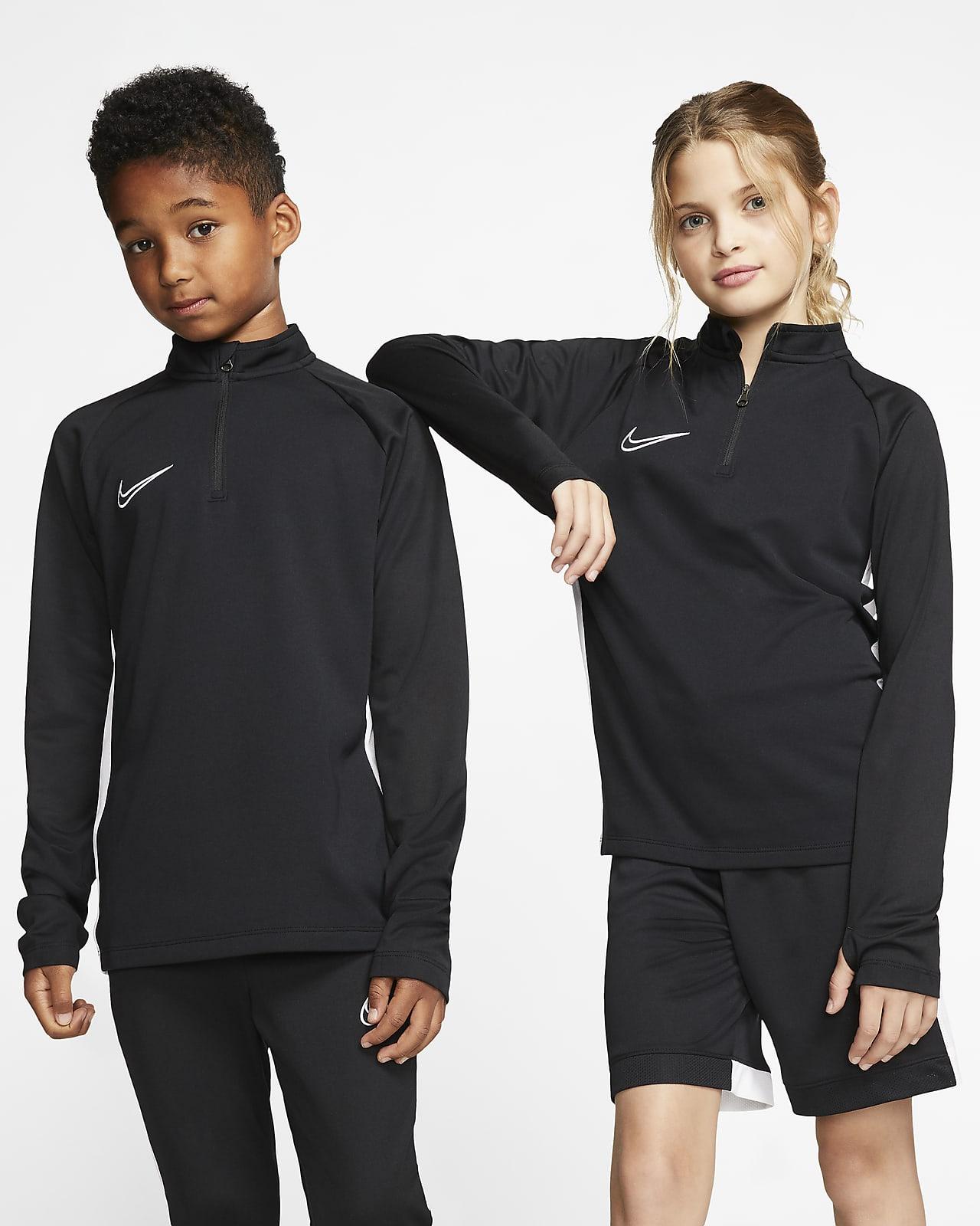 Nike Dri-FIT Academy futballfelső nagyobb gyerekeknek futballgyakorlatokhoz