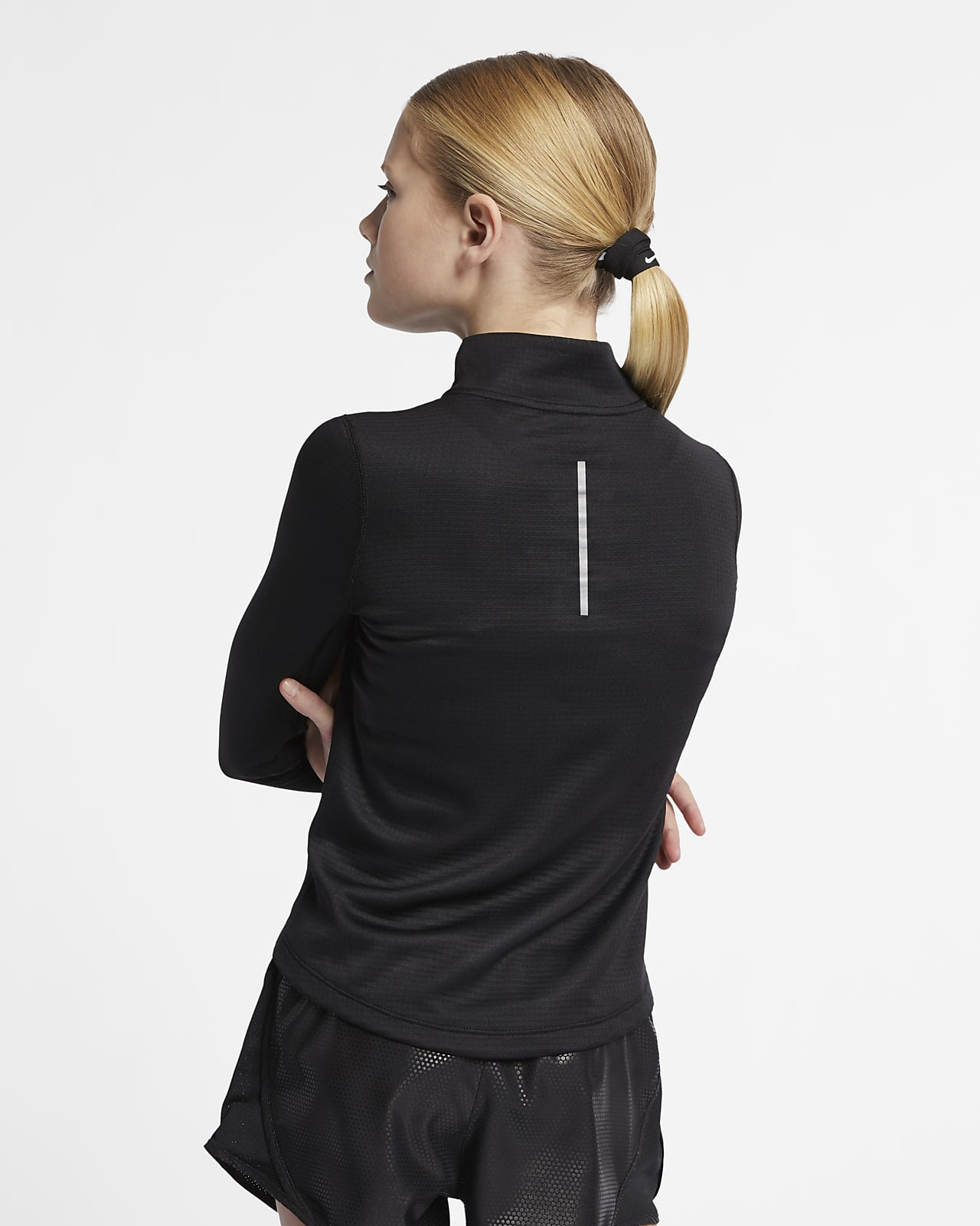 Nike Big Kids' (Girls') Long-Sleeve 1/2