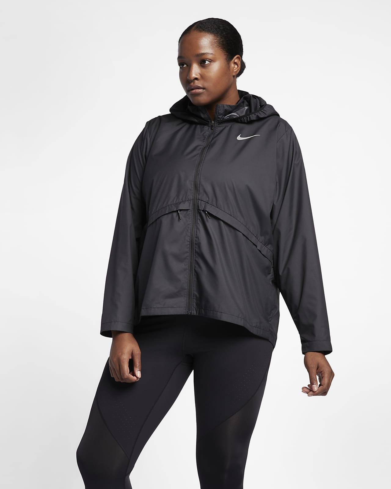 Hooded Running Jacket (Plus Size). Nike