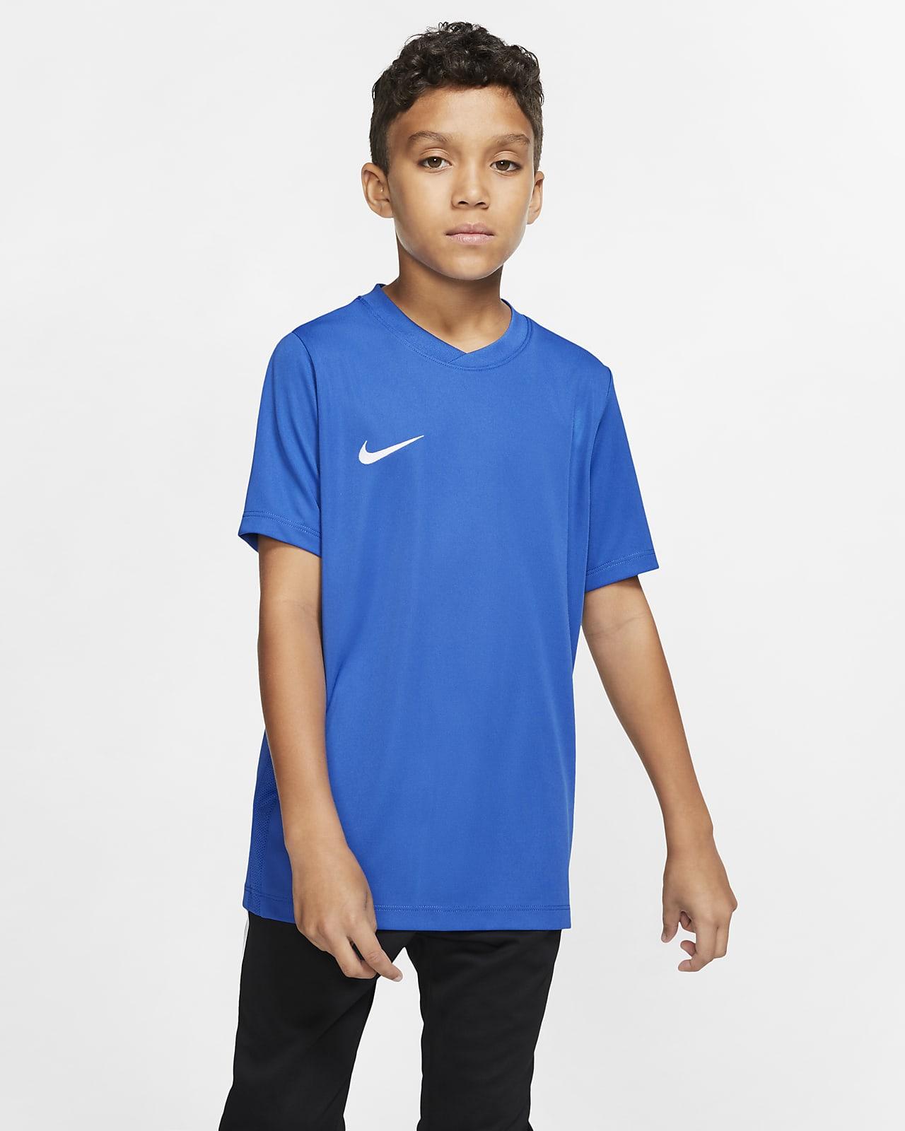 Koszulka piłkarska dla dużych dzieci Nike Dry (XS–XL). Nike PL
