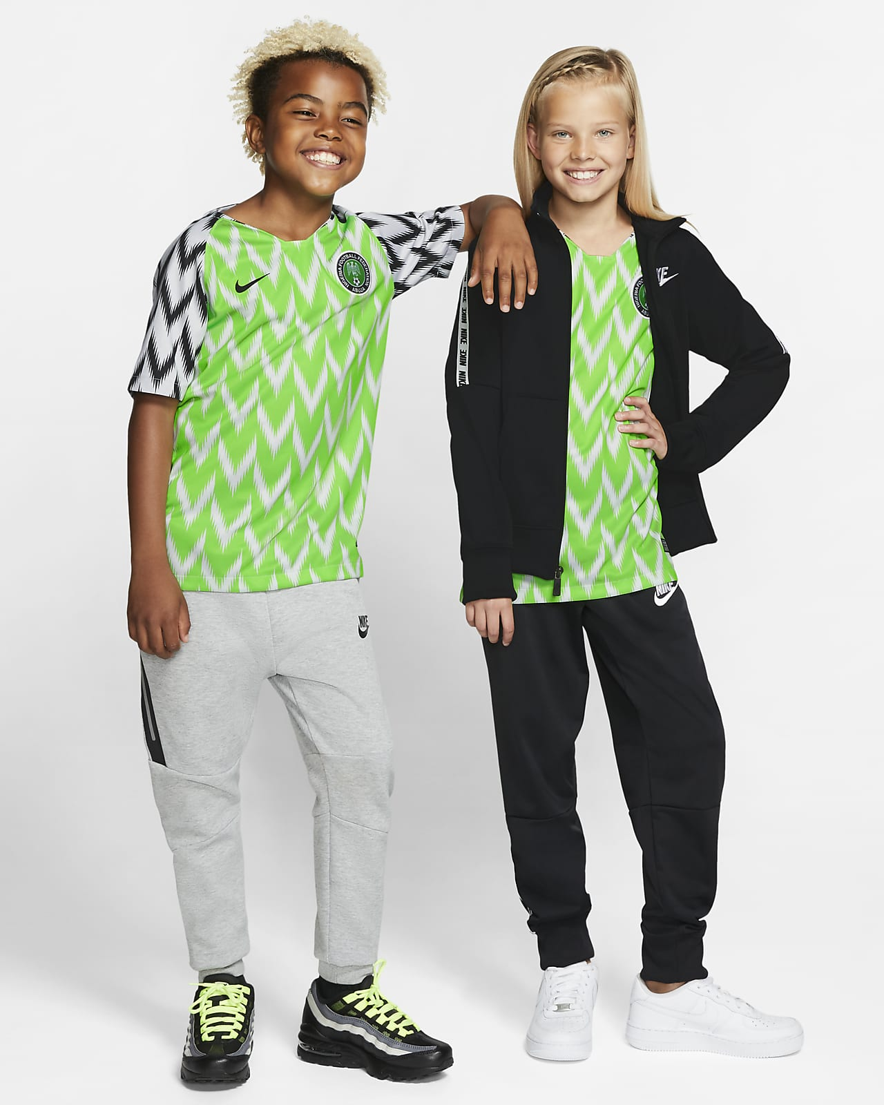 Nigeria 2019 Stadium Home Kids' Football Shirt