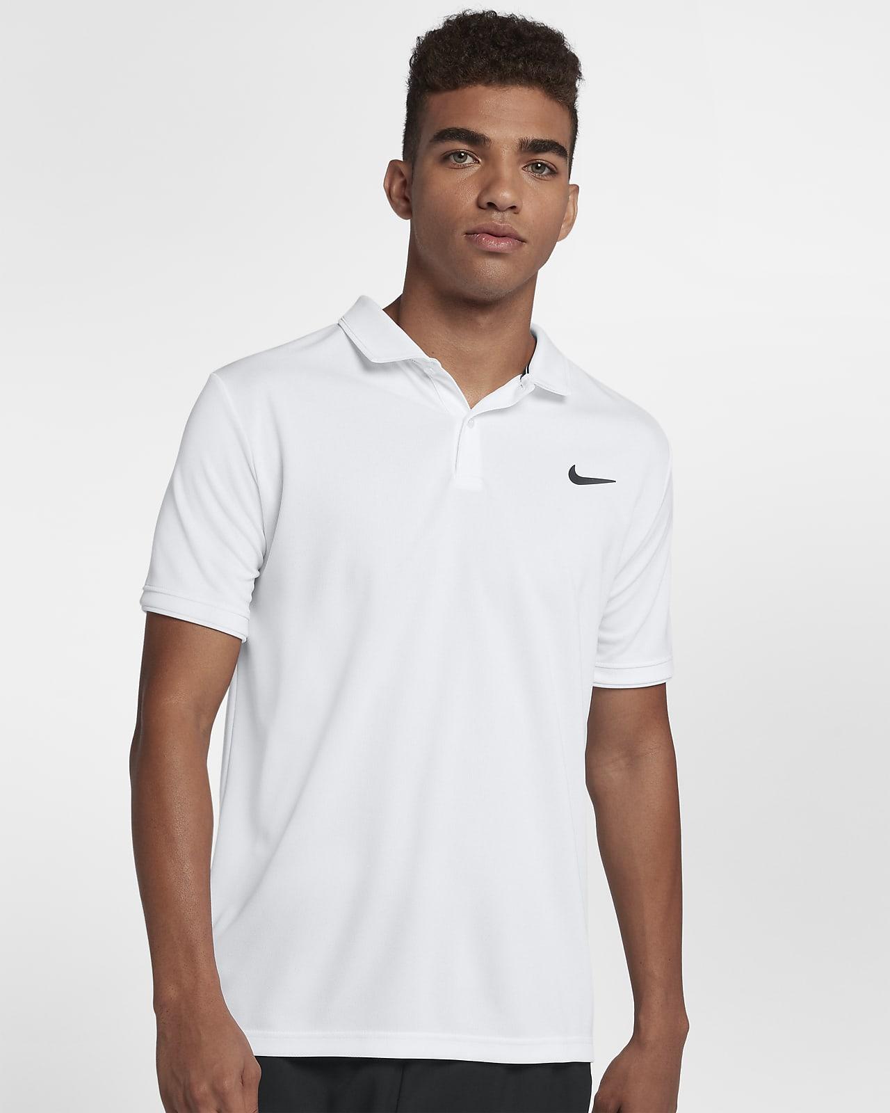 NikeCourt Dri-FIT 男款網球有領衫
