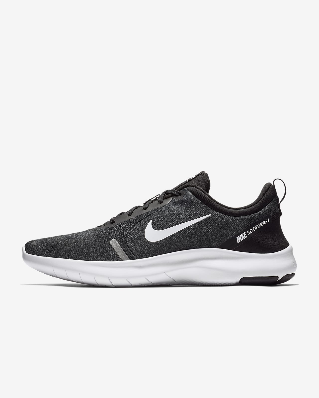 Nike Flex Experience RN 8 Black//White-Cool Grey Sportstyle Running AJ5900-013